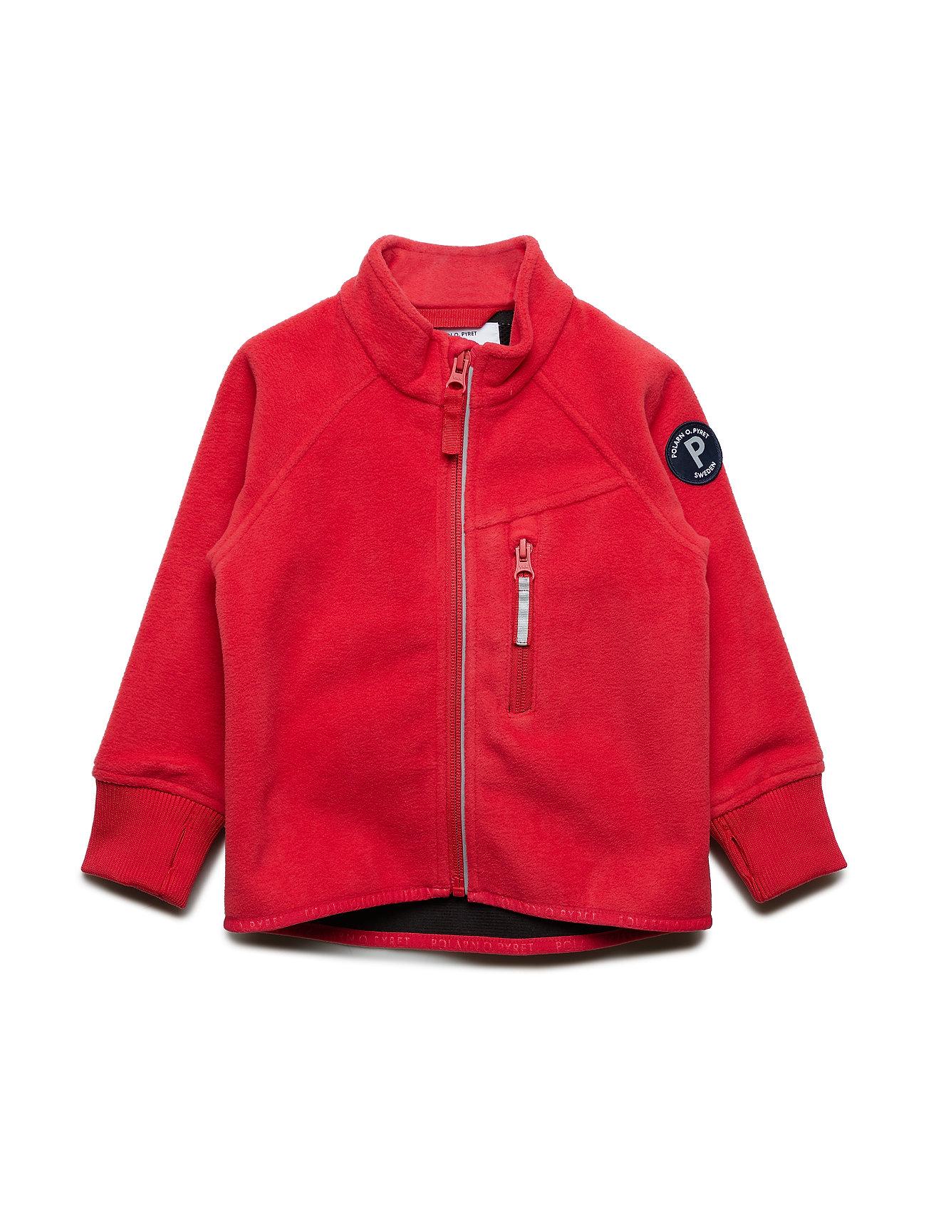 Polarn O. Pyret Jacket Windfleece Solid Preschool - RIBBON RED