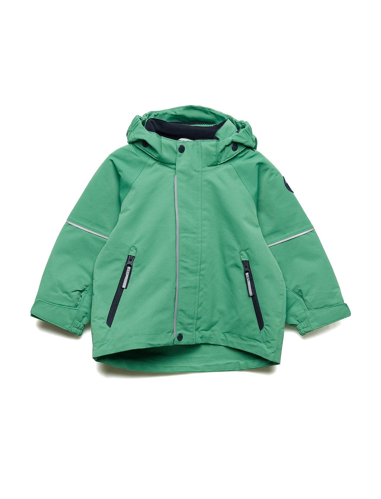 Polarn O. Pyret Jacket Shell Solid Preschool - LEPRECHAUN