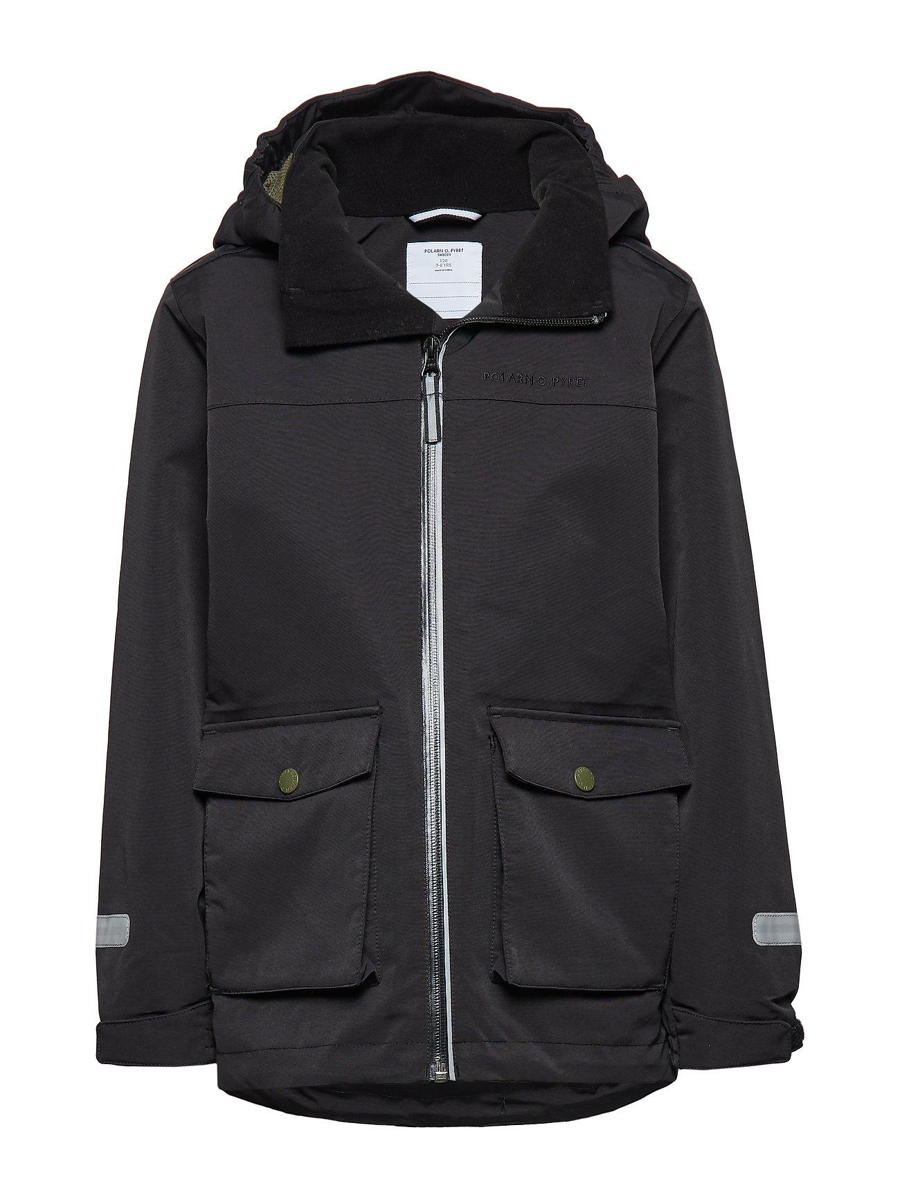 Polarn O. Pyret Jacket Shell School - BLACK