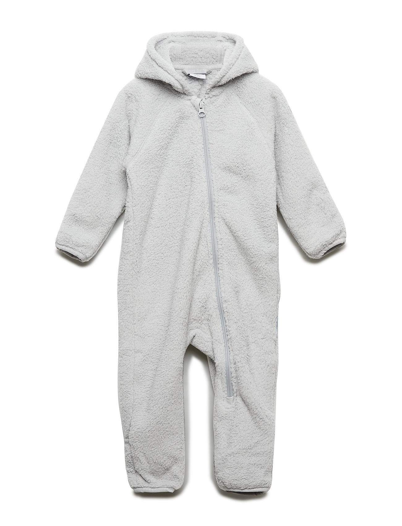 Polarn O. Pyret Overall Pile Solid Baby - GLACIER GRAY