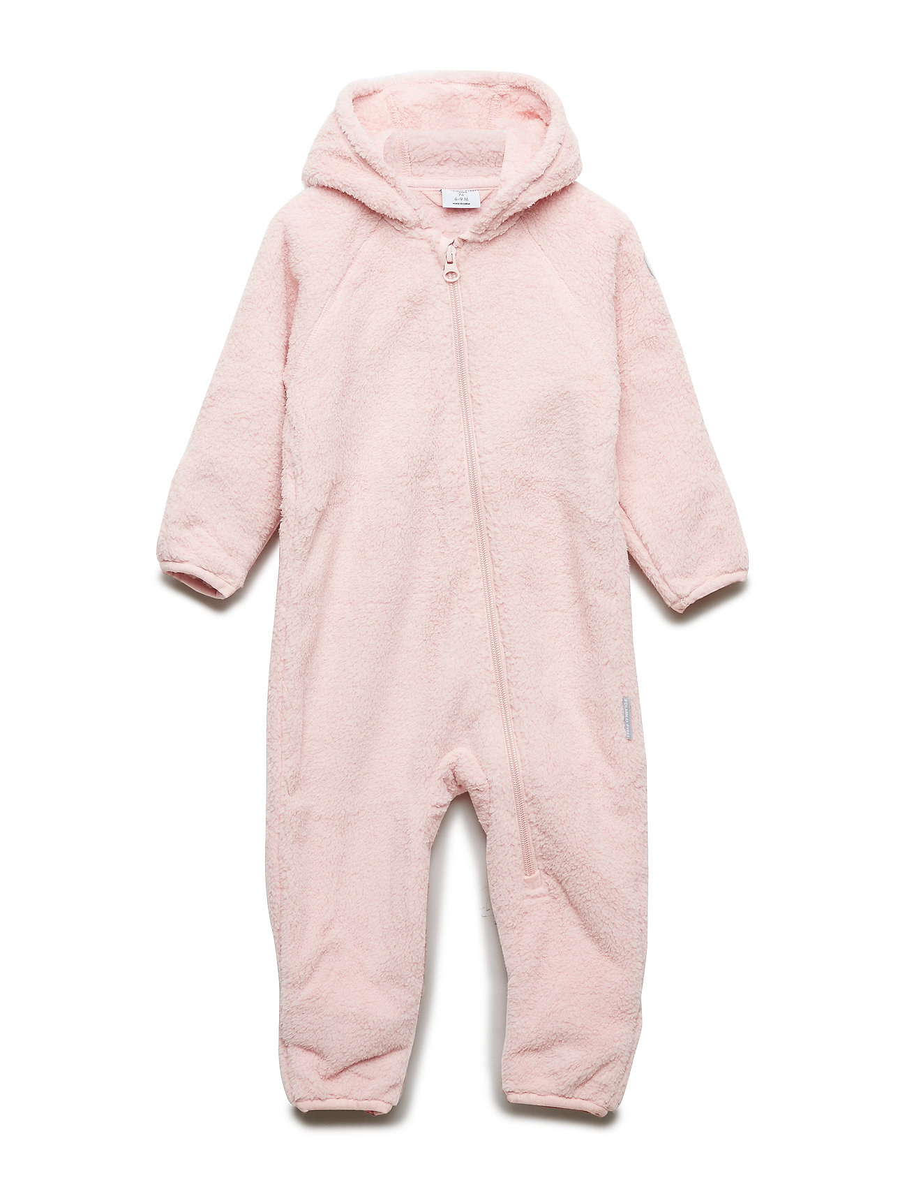 Polarn O. Pyret Overall Pile Solid Baby - SILVER PINK