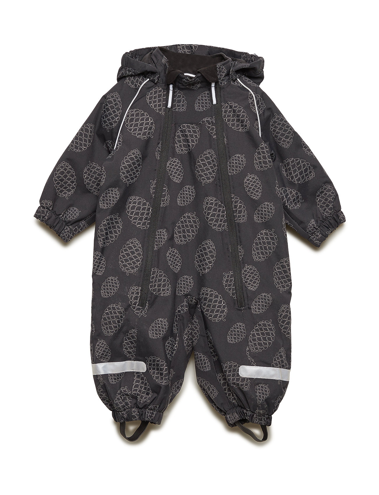 Polarn O. Pyret Overall Shell Lined Baby - BLACK