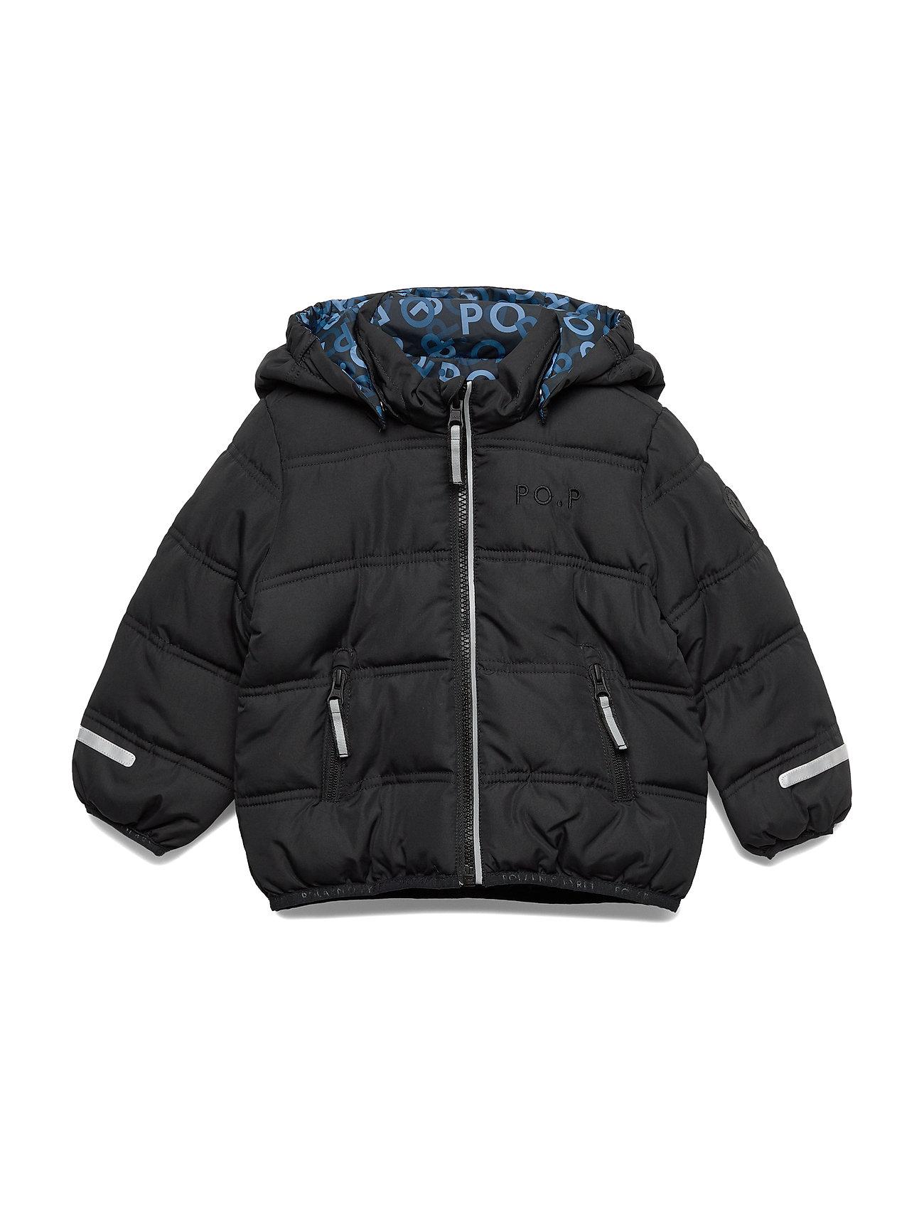 Polarn O. Pyret Jacket Reversable Preschool - BLACK