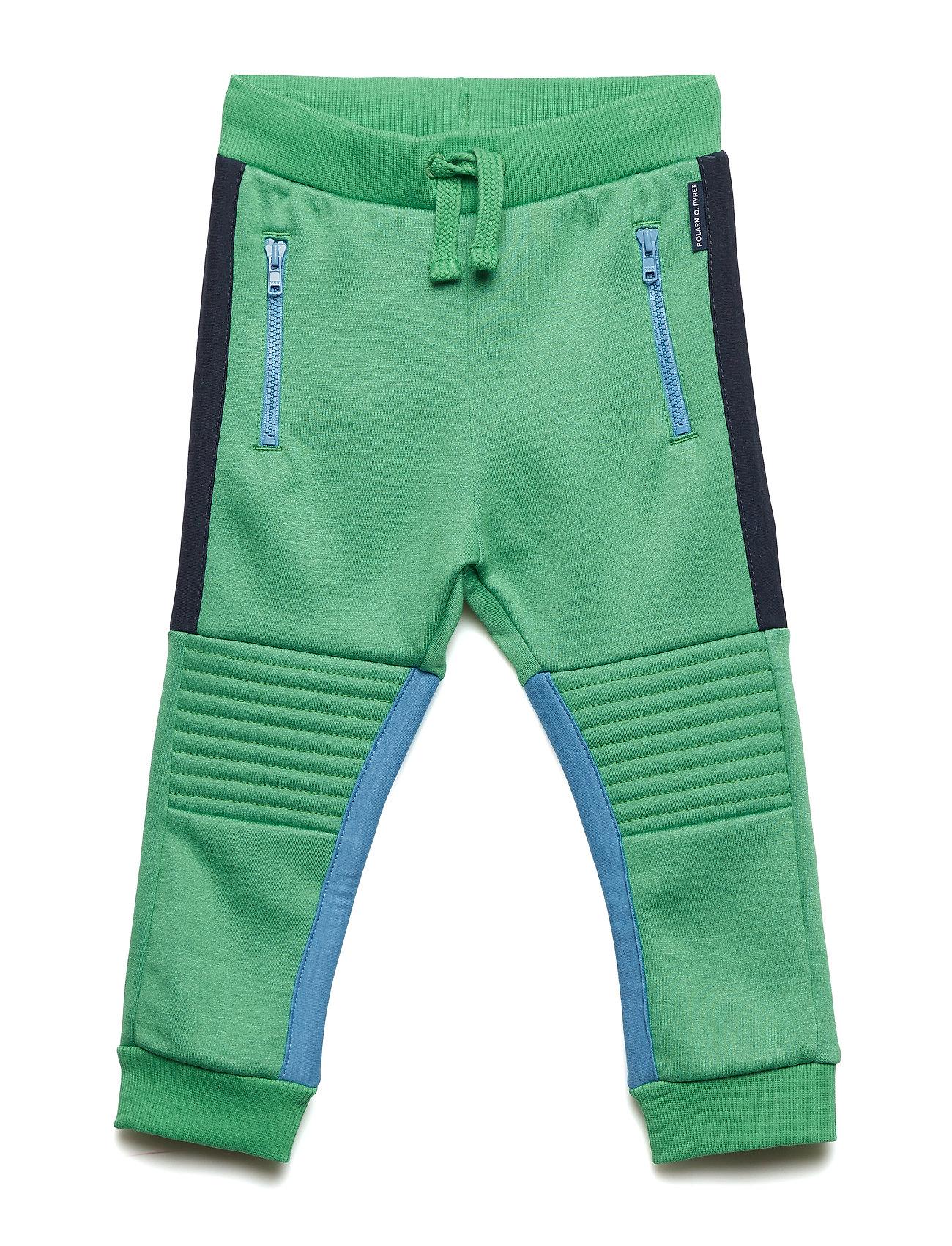 Image of Trouser Jersey W Details Preschool Sweatpants Hyggebukser Grøn POLARN O. PYRET (3217761339)