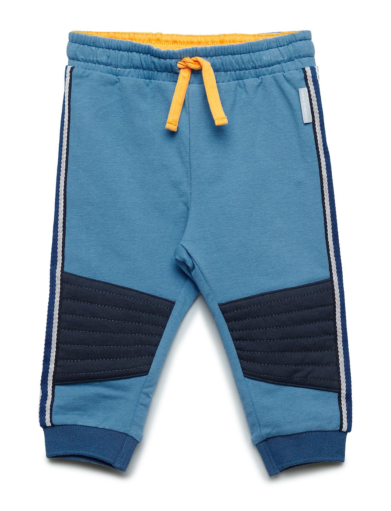 Image of Trouser Jersey Solid Baby Sweatpants Hyggebukser Blå POLARN O. PYRET (3204283195)