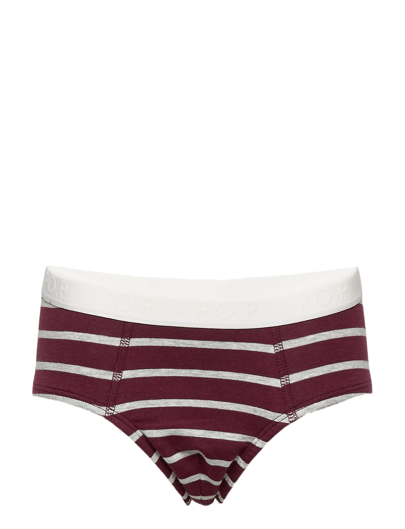 Image of Boy Brief Po.P Stripe Preschool Trusser Rød Polarn O. Pyret (3216262009)