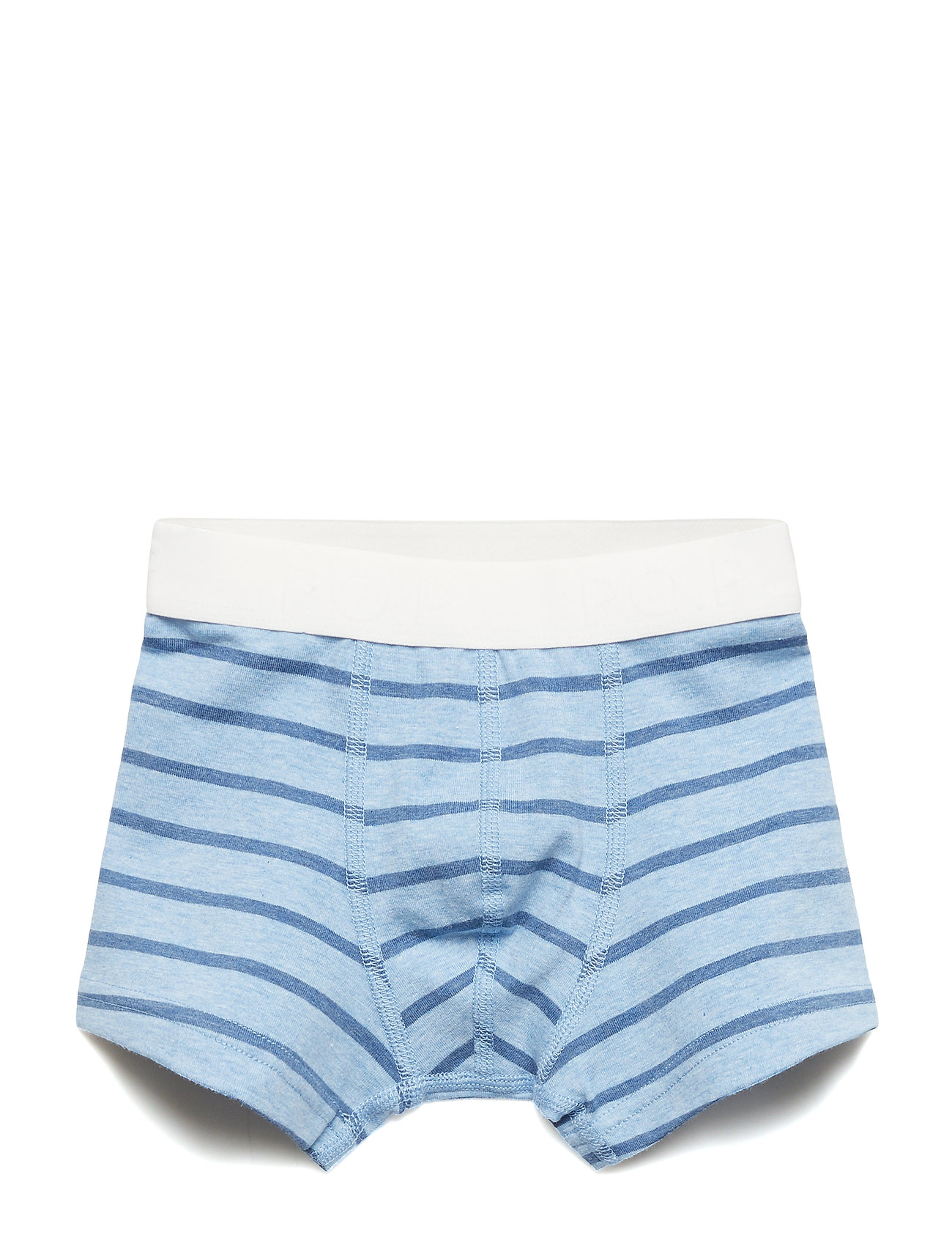 Polarn O. Pyret Boxer PO.P Striped Preschool - CELESTIAL BLUE