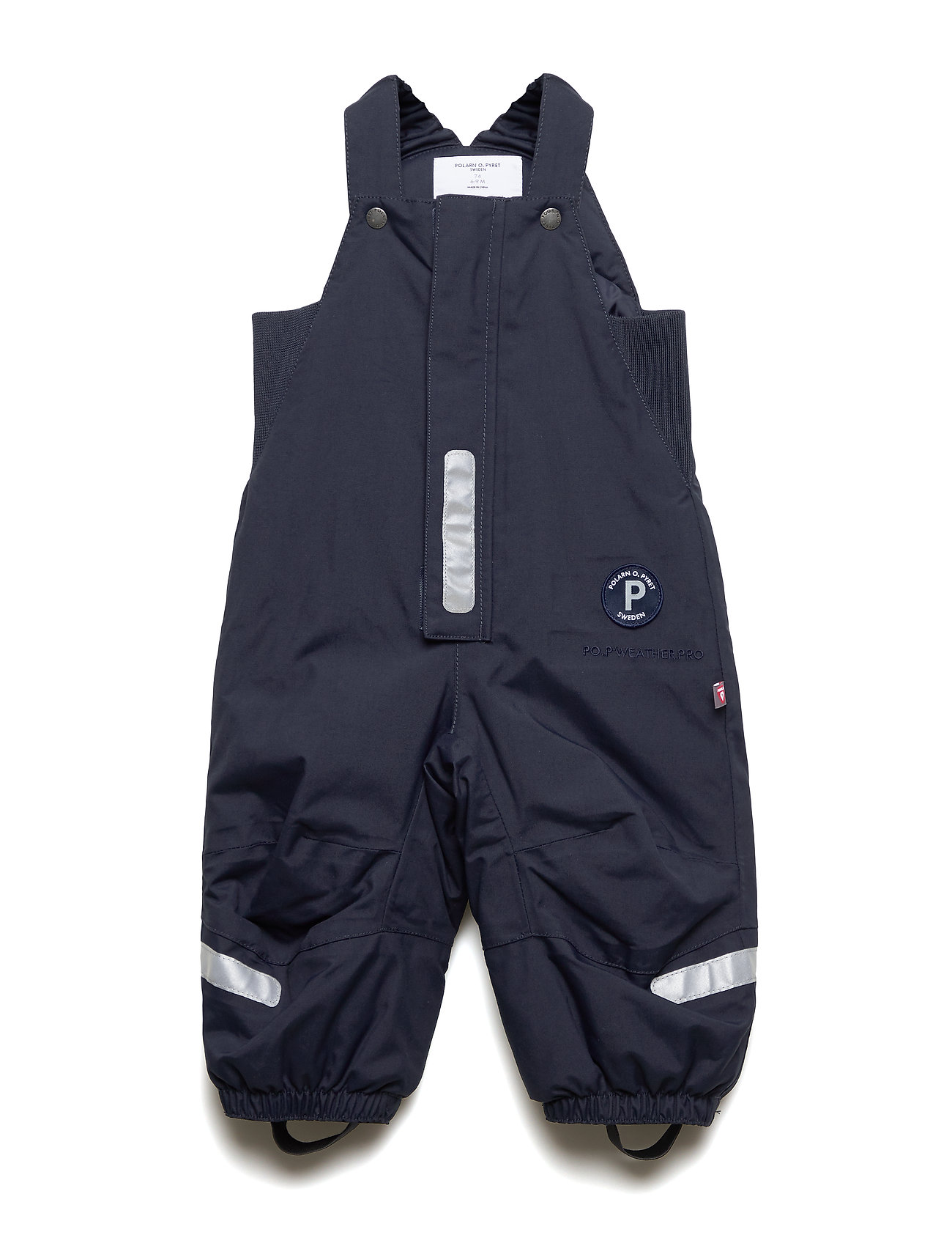 Polarn O. Pyret Trousers Padded Solid PreSchool - DARK SAPPHIRE