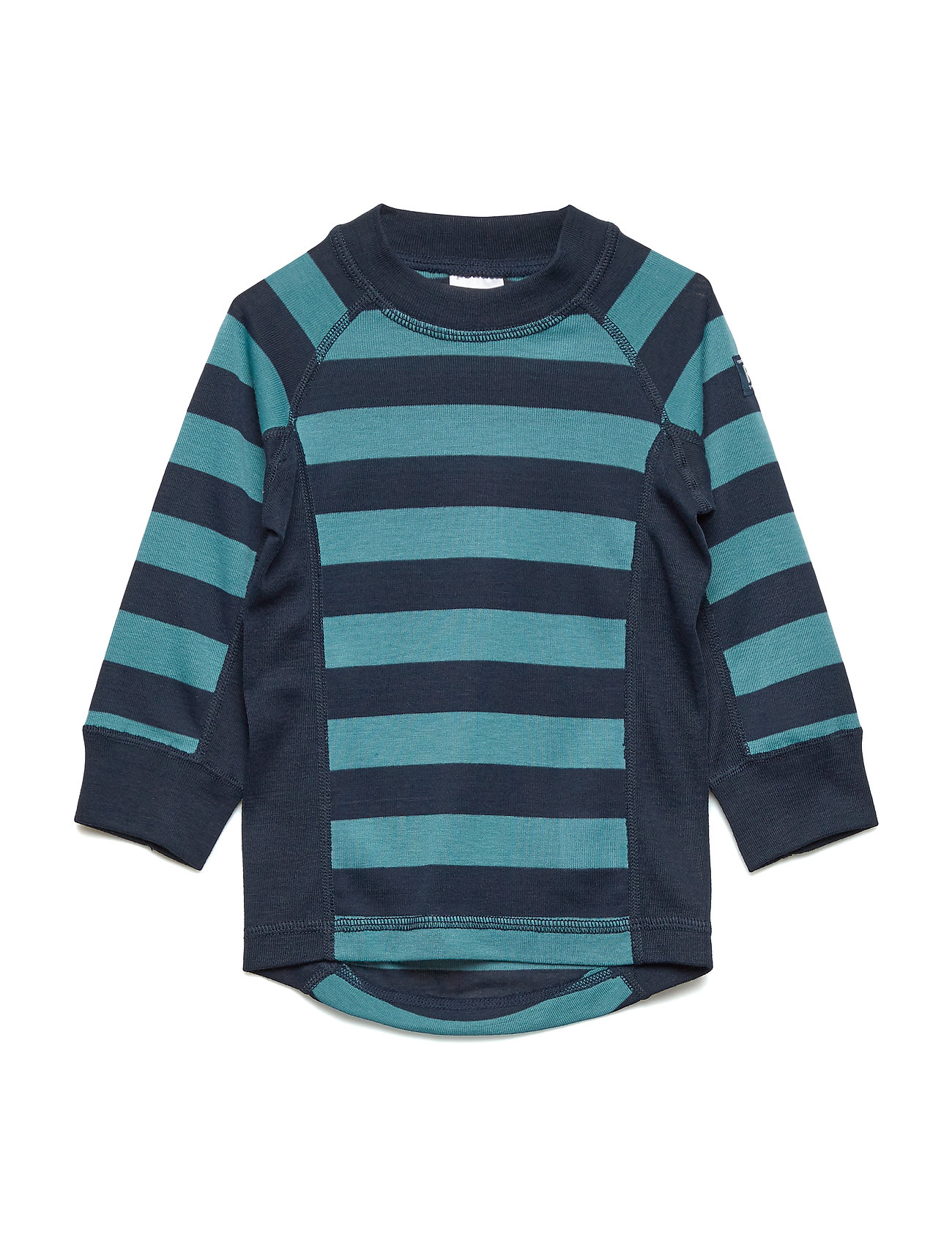 Polarn O. Pyret Sweater Polyester Solid PreSchool - STORM BLUE