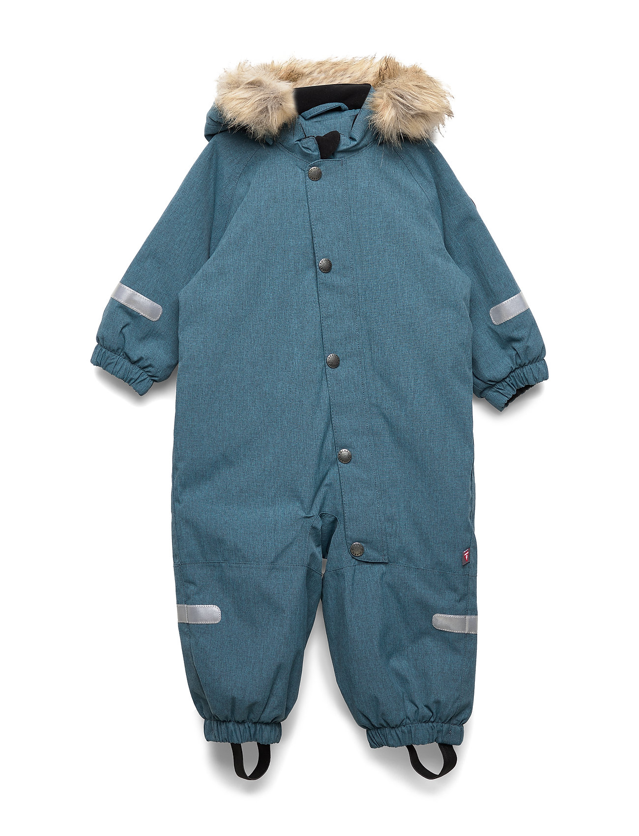 Polarn O. Pyret Overall Solid Baby - STORM BLUE