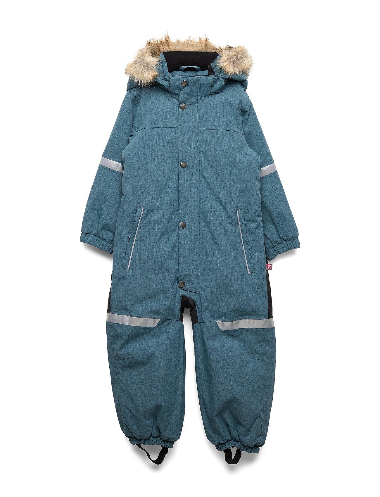 Polarn O. Pyret Overall Solid Preschool - STORM BLUE