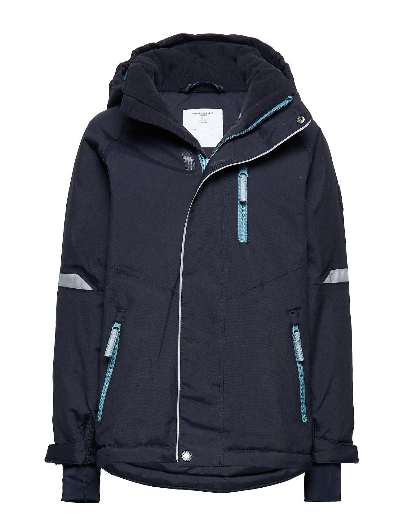 Polarn O. Pyret Jacket Padded Solid School - DARK SAPPHIRE