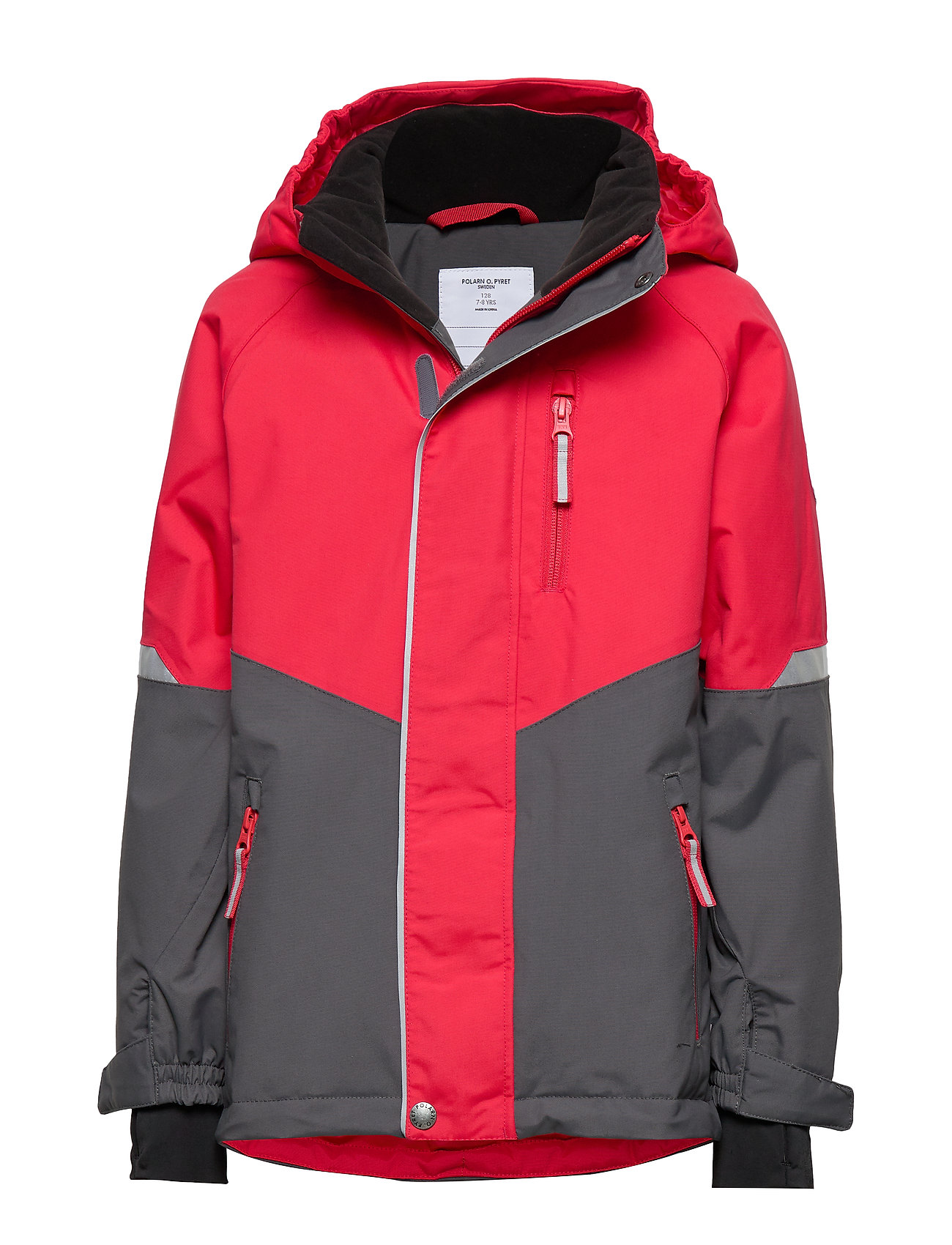 Polarn O. Pyret Jacket Padded Solid School - RIBBON RED