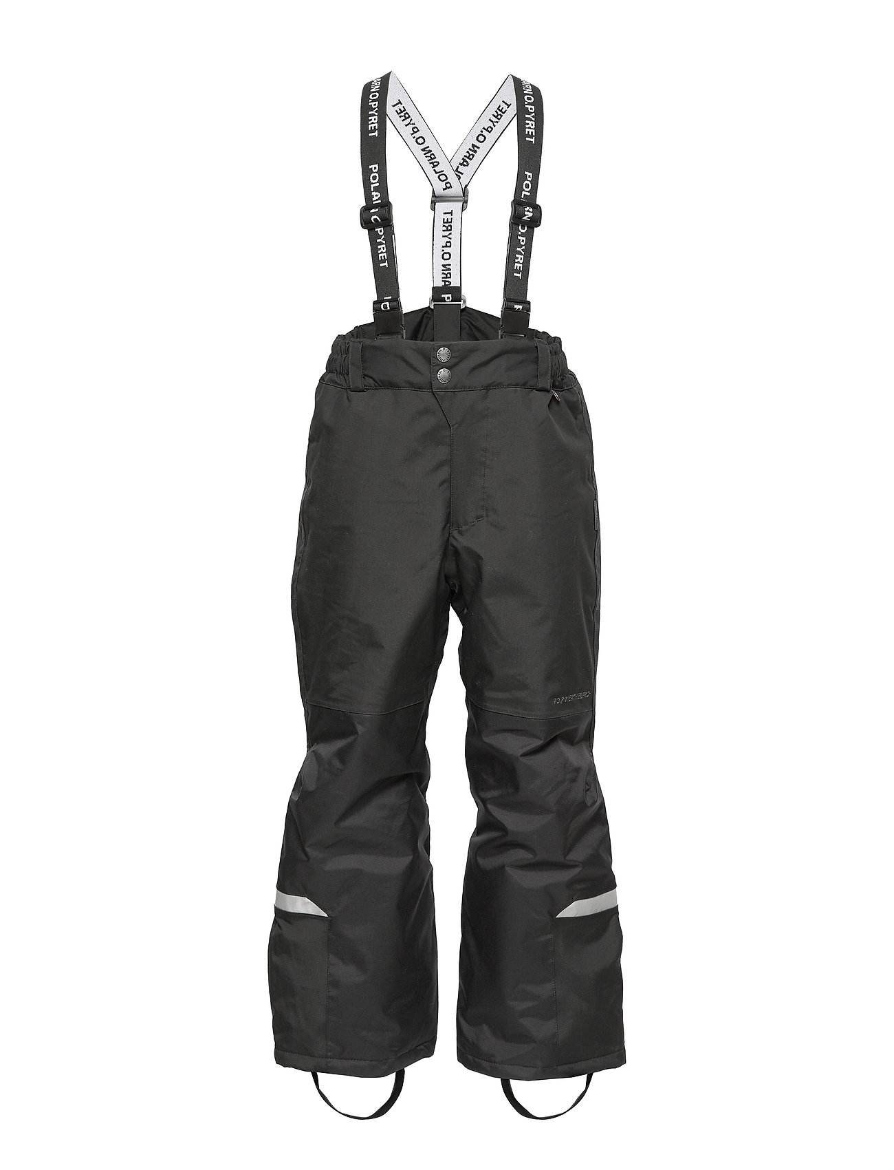 Polarn O. Pyret Trousers Padded Solid School - BLACK