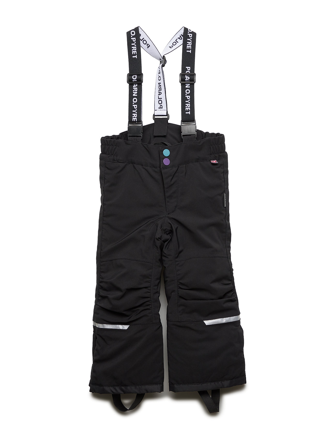 Polarn O. Pyret Trousers Padded Solid Preschool - BLACK