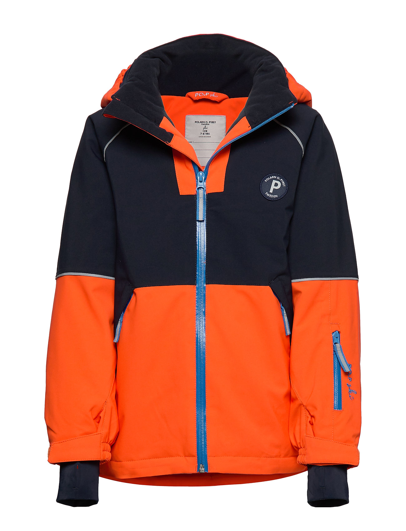 Polarn O. Pyret Jacket Padded Solid PreSchool - FLAME