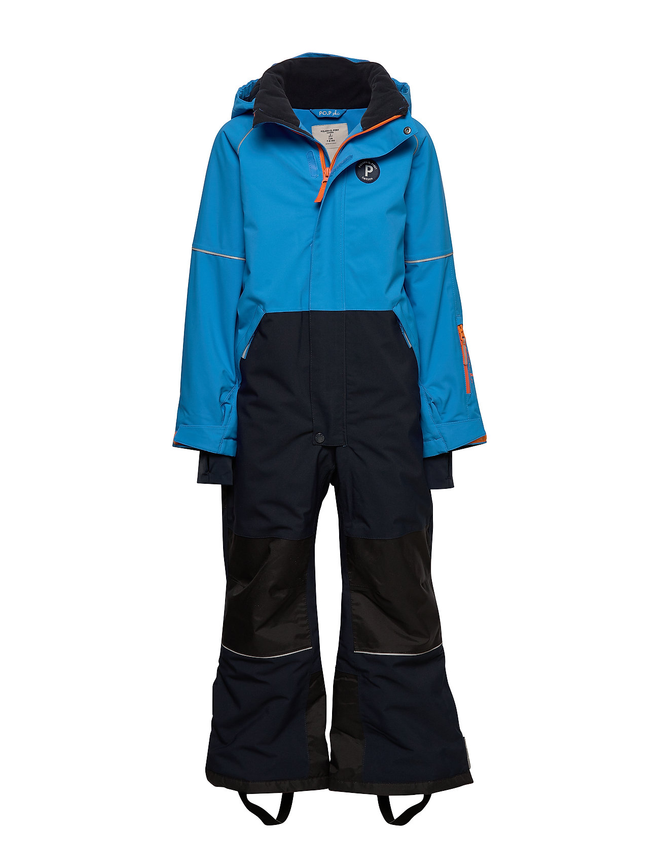 Polarn O. Pyret Overall Padded Solid School - FRENCH BLUE