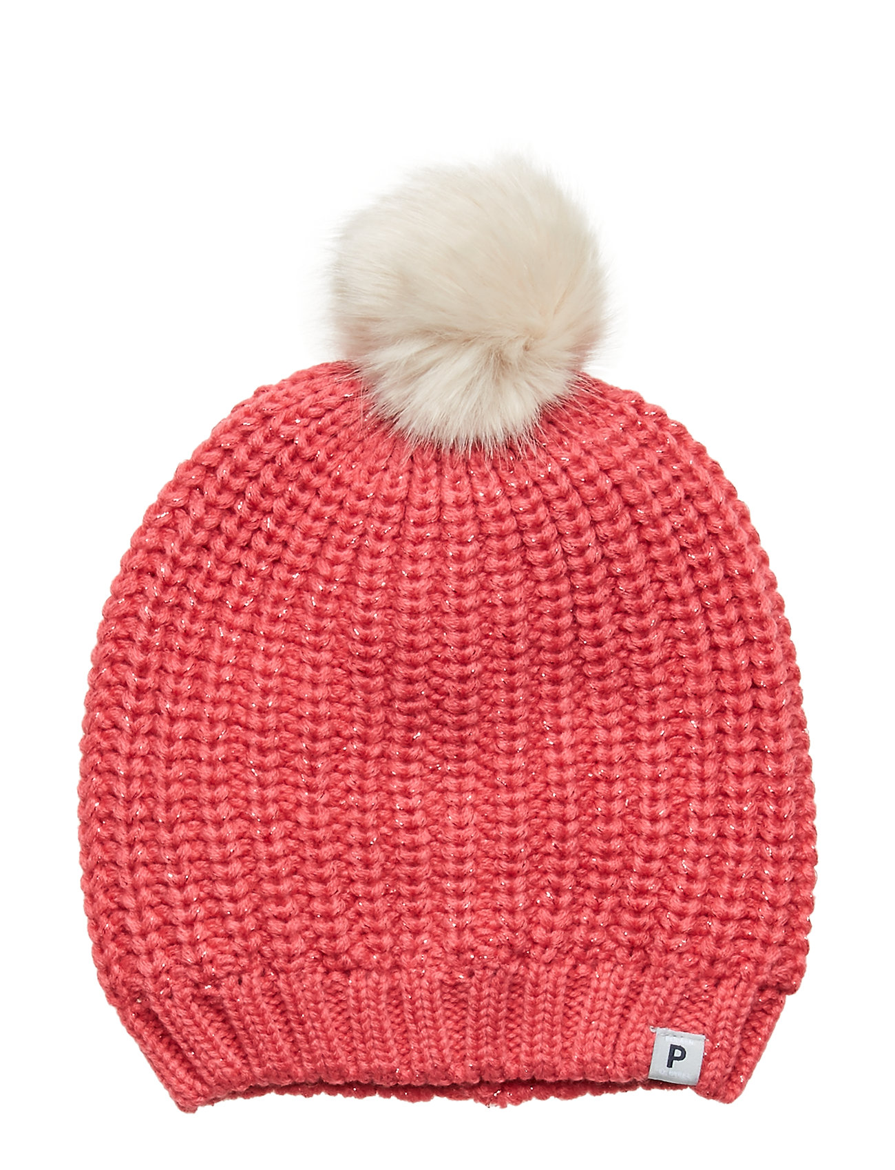 Polarn O. Pyret Cap Knitted Solid School - FRUIT DOVE