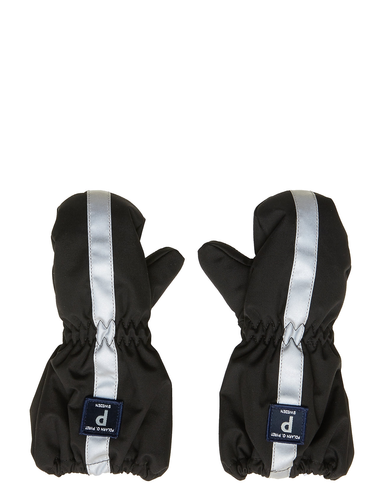 Polarn O. Pyret Mitten Solid Baby - BLACK
