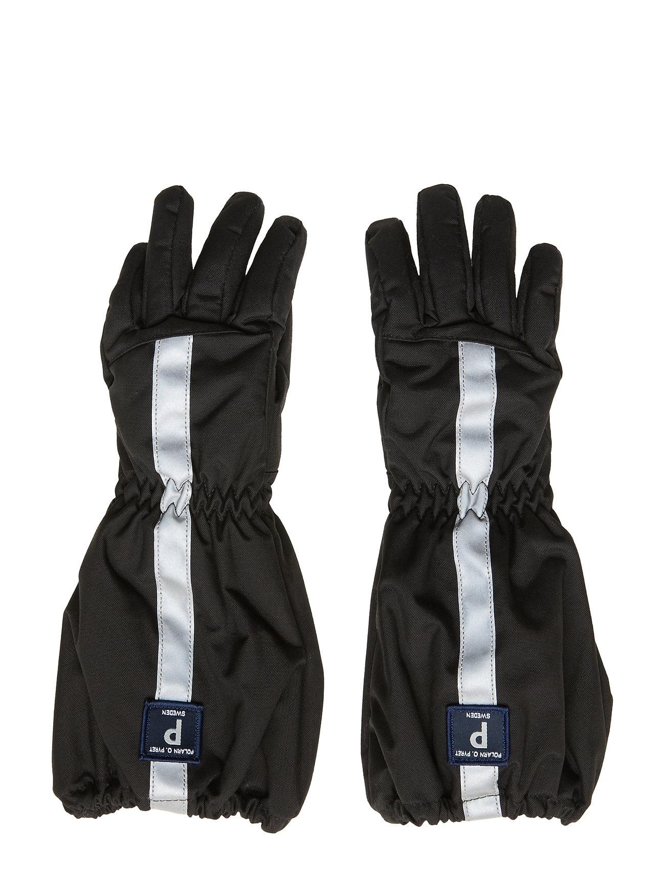 Polarn O. Pyret Glove Solid PreSchool - BLACK