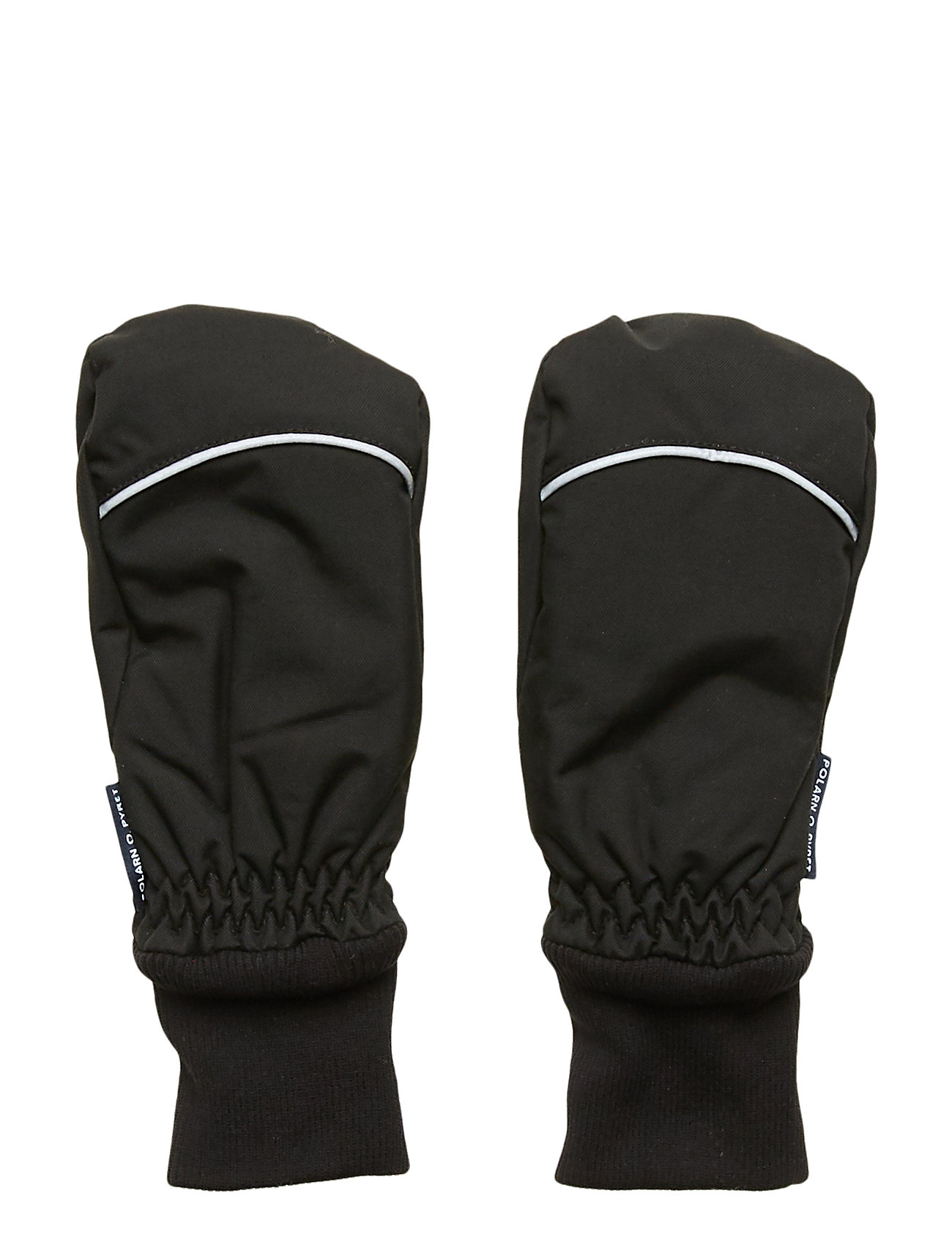 Polarn O. Pyret Mitten Solid PreSchool - BLACK