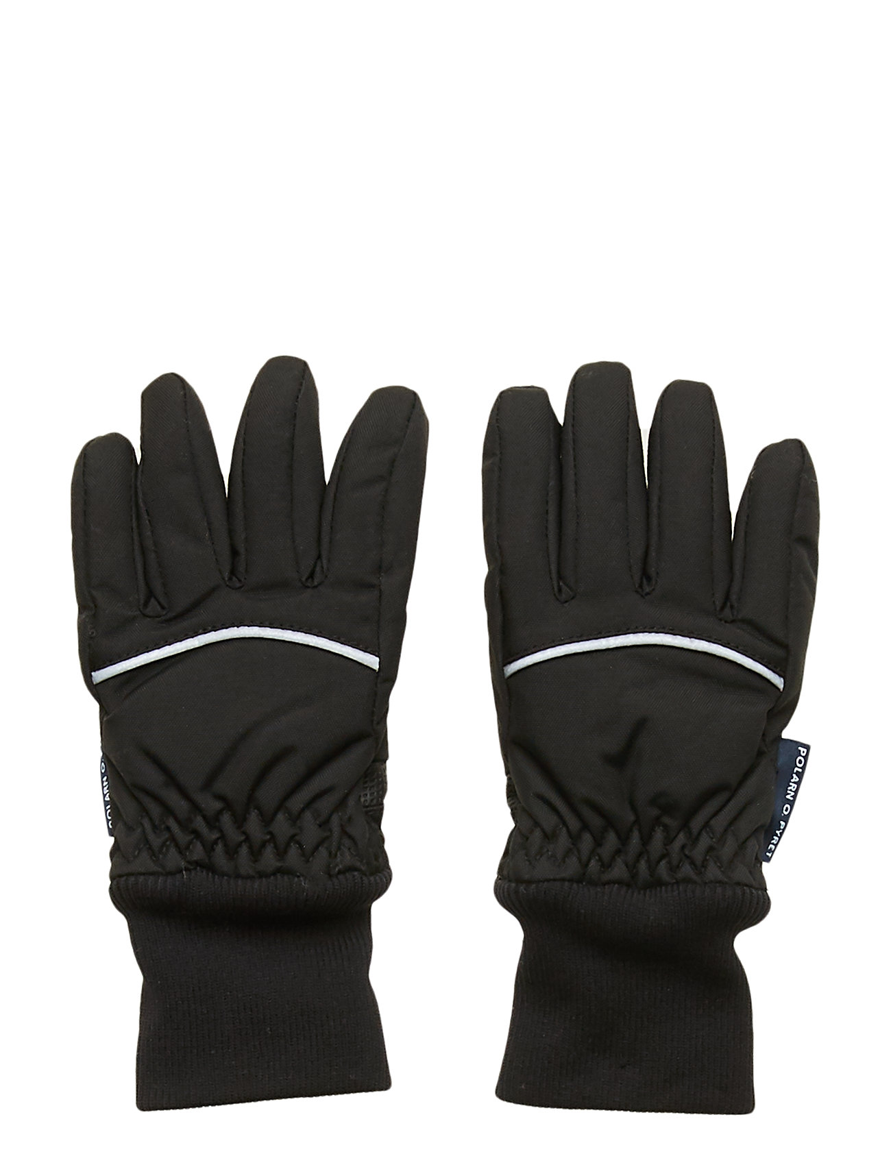 Polarn O. Pyret Glove Solid PreSchool - BLACK