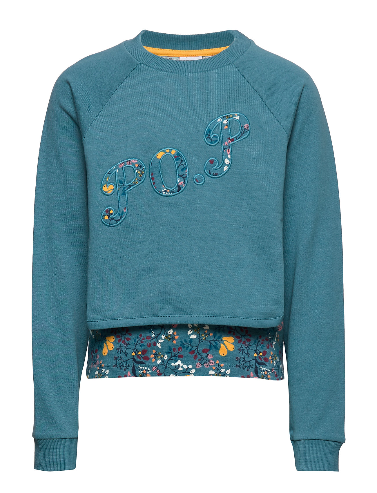 Polarn O. Pyret Sweater l/s  detail School - STORM BLUE