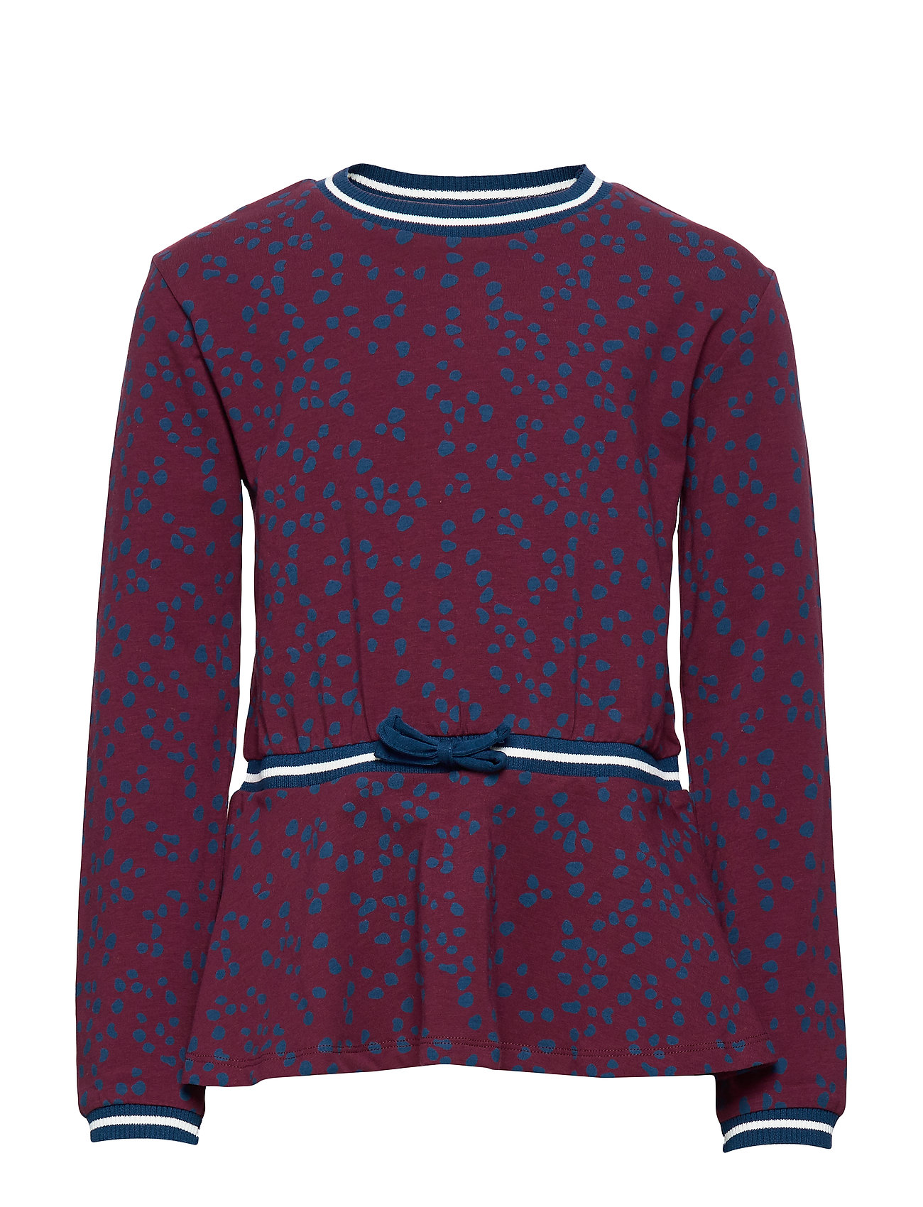 Polarn O. Pyret Top L/S AOP School - TAWNY PORT