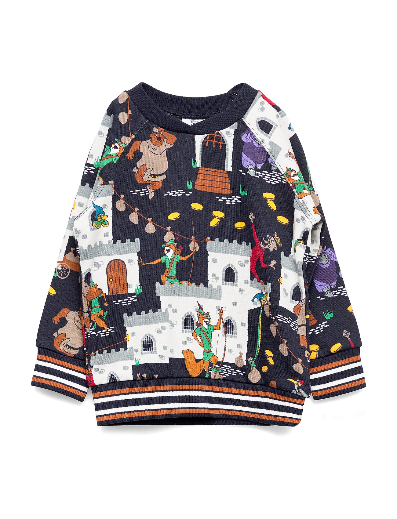 Polarn O. Pyret Disney Collection Sweater W APO Preschool - DARK SAPPHIRE