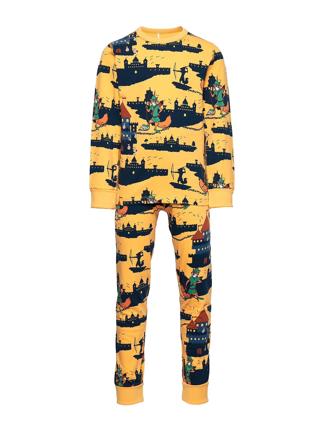 Polarn O. Pyret Disney Collection Pyjamas AOP Preschool - ARTISAN´S GOLD