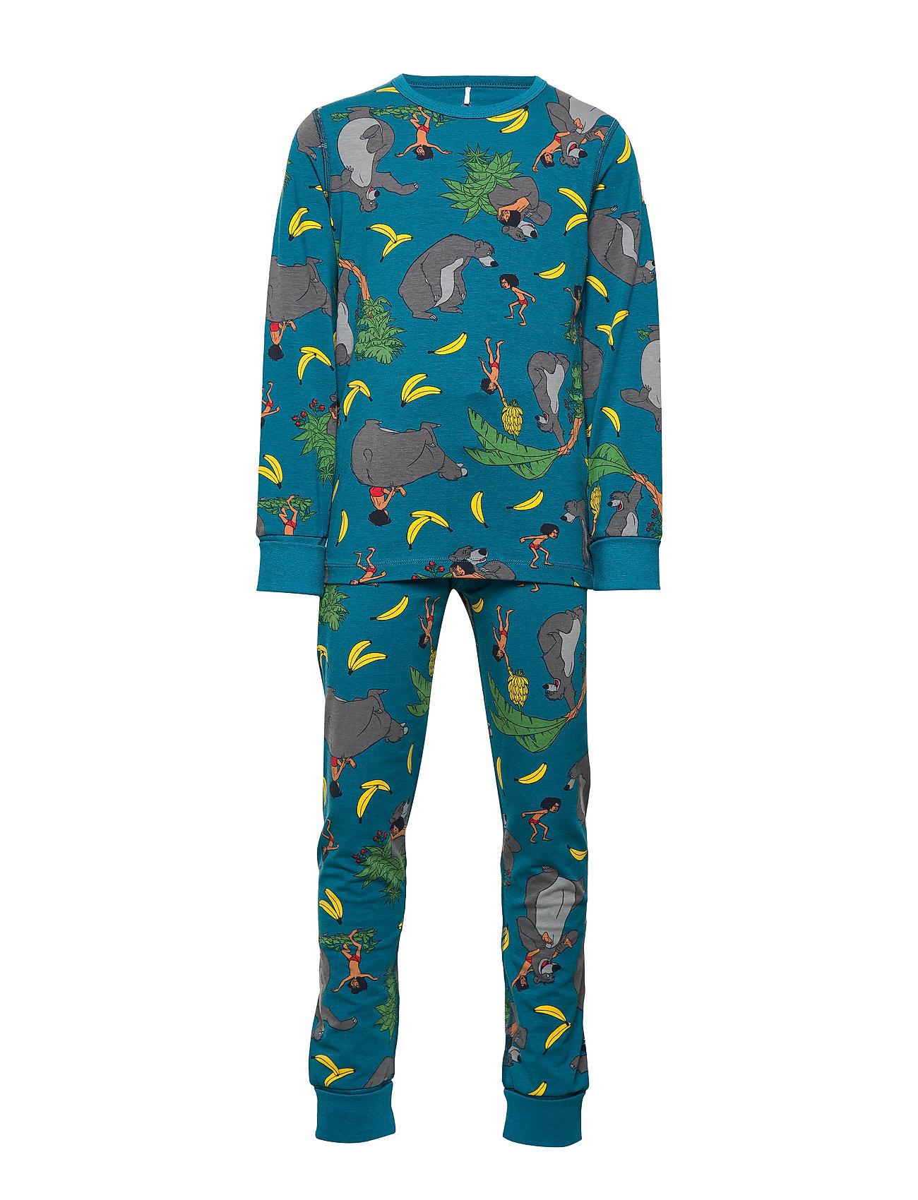 Polarn O. Pyret Disney Collection Pyjamas AOP School - CELESTIAL