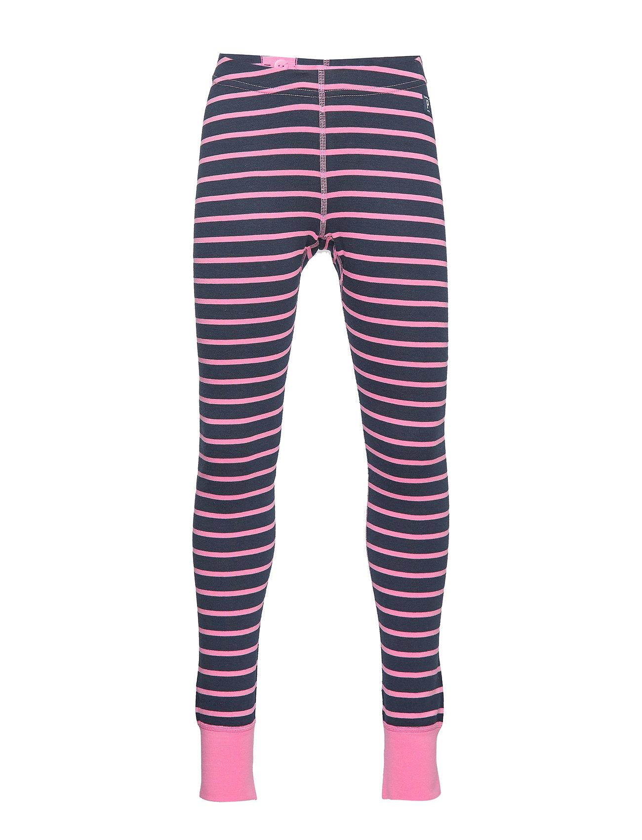 Polarn O. Pyret Long Johns Striped Preschool - MORNING GLORY