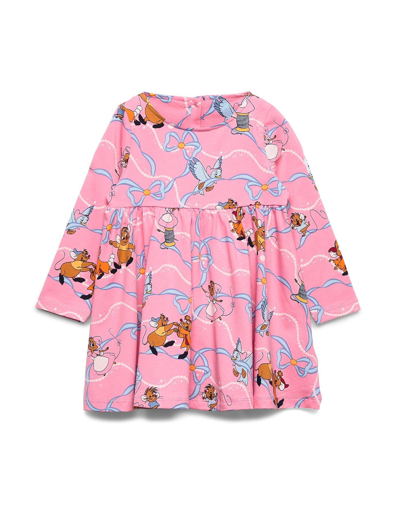 Polarn O. Pyret Disney Collection Dress l/s AOP Preschool - MORNING GLORY