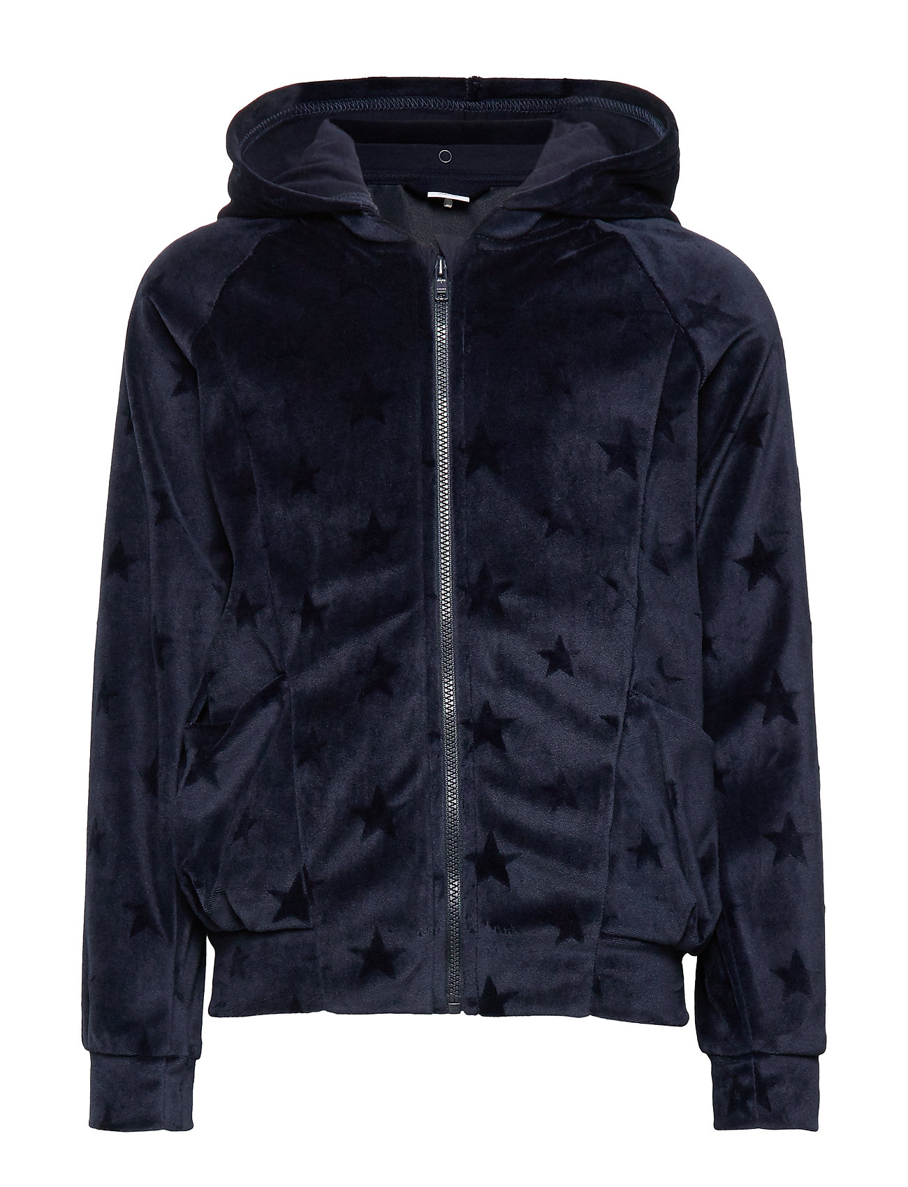 Polarn O. Pyret Zip Up Hood School - DARK SAPPHIRE