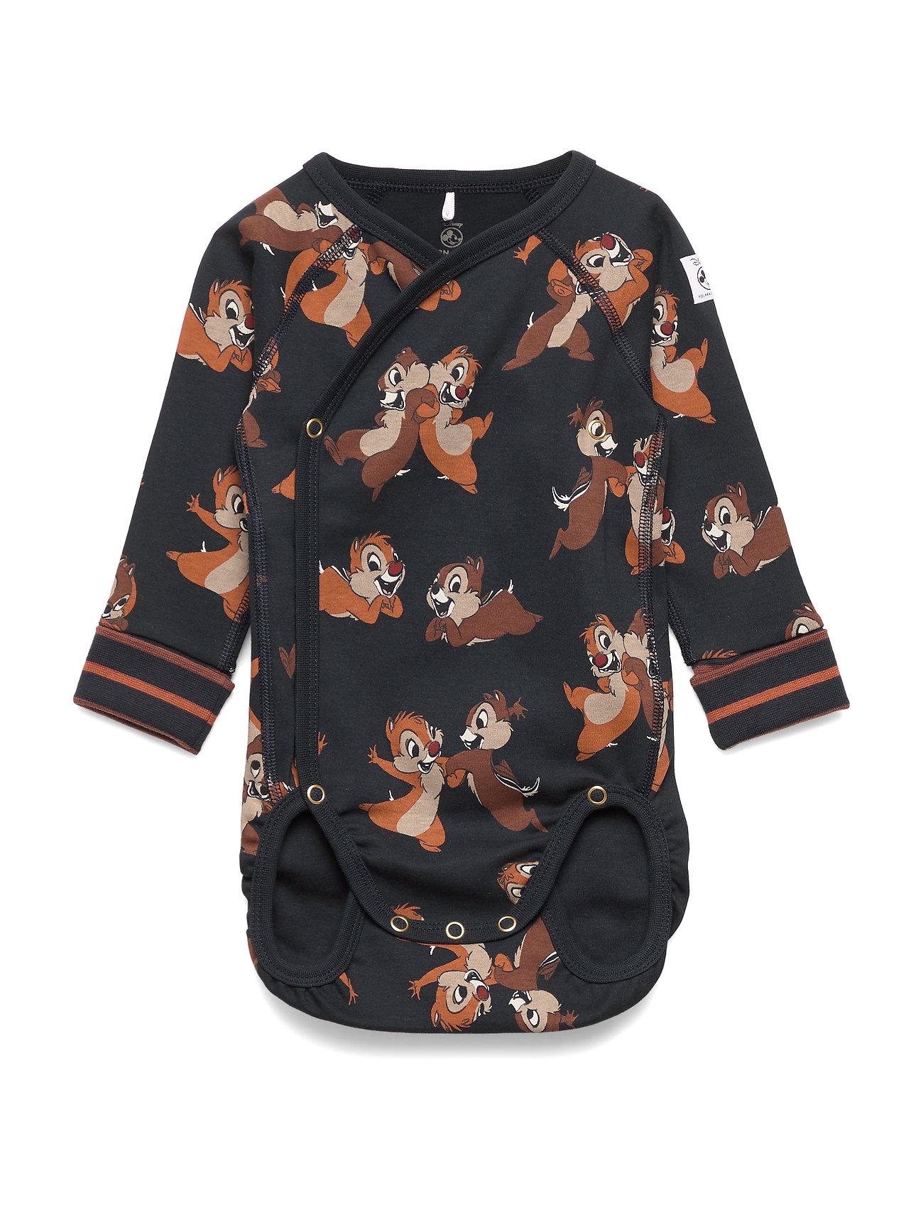 Polarn O. Pyret Disney Collection Body Wrapover AOP Baby - DARK SAPPHIRE