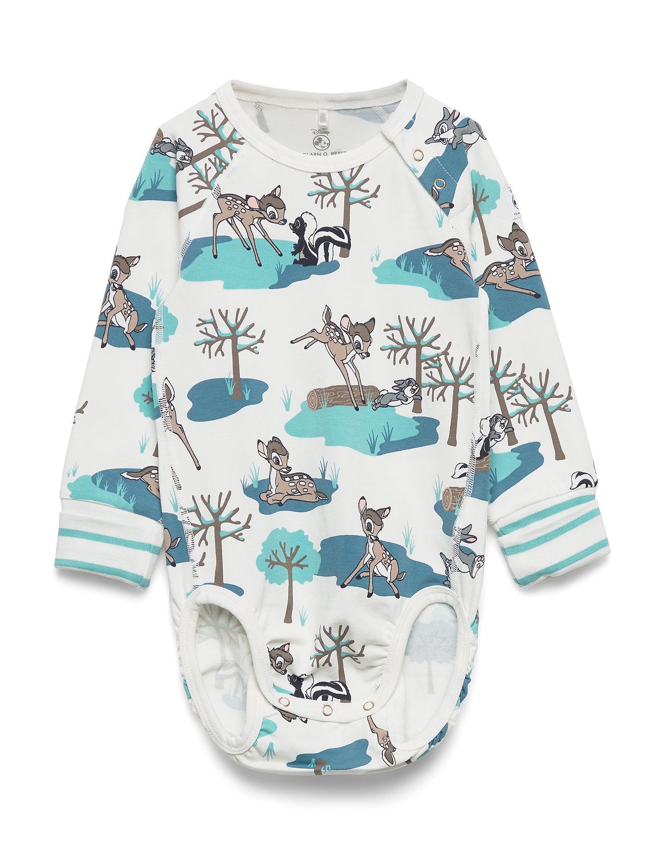 Polarn O. Pyret Body AOP Baby - MARINE BLUE