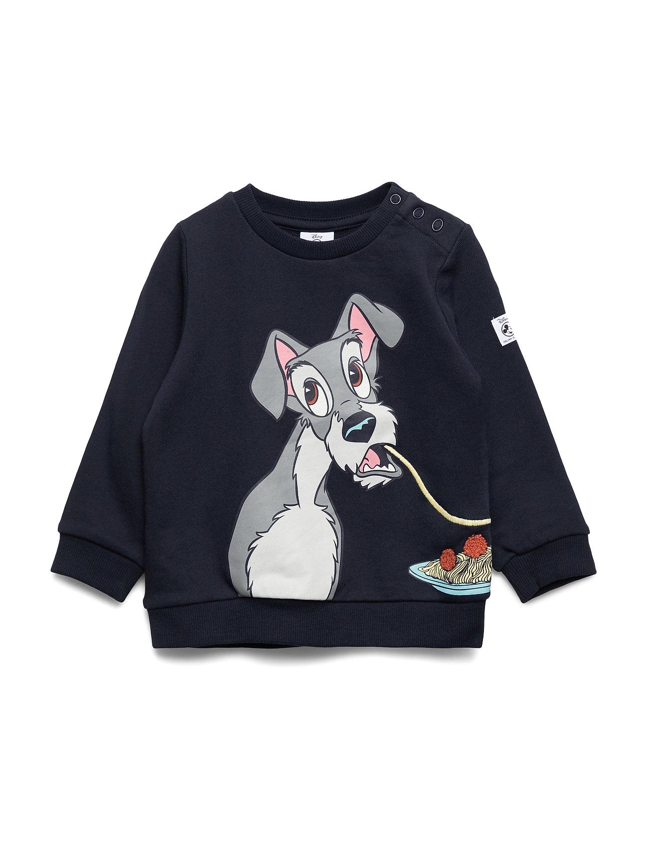 Polarn O. Pyret Disney Collection Sweater l/s applique Preschool - DARK SAPPHIRE