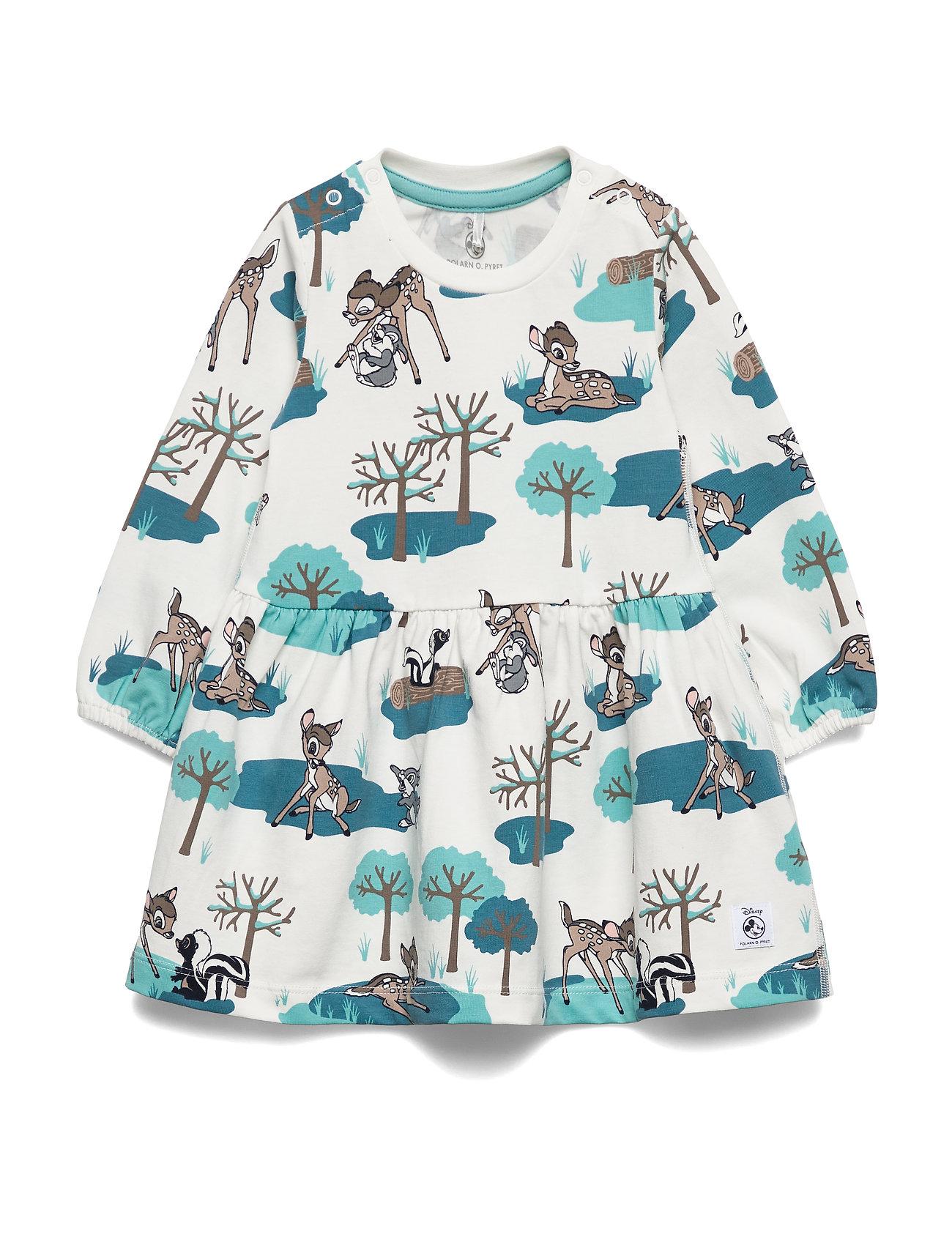 Polarn O. Pyret Disney Collection Dress L/S Baby - MARINE BLUE