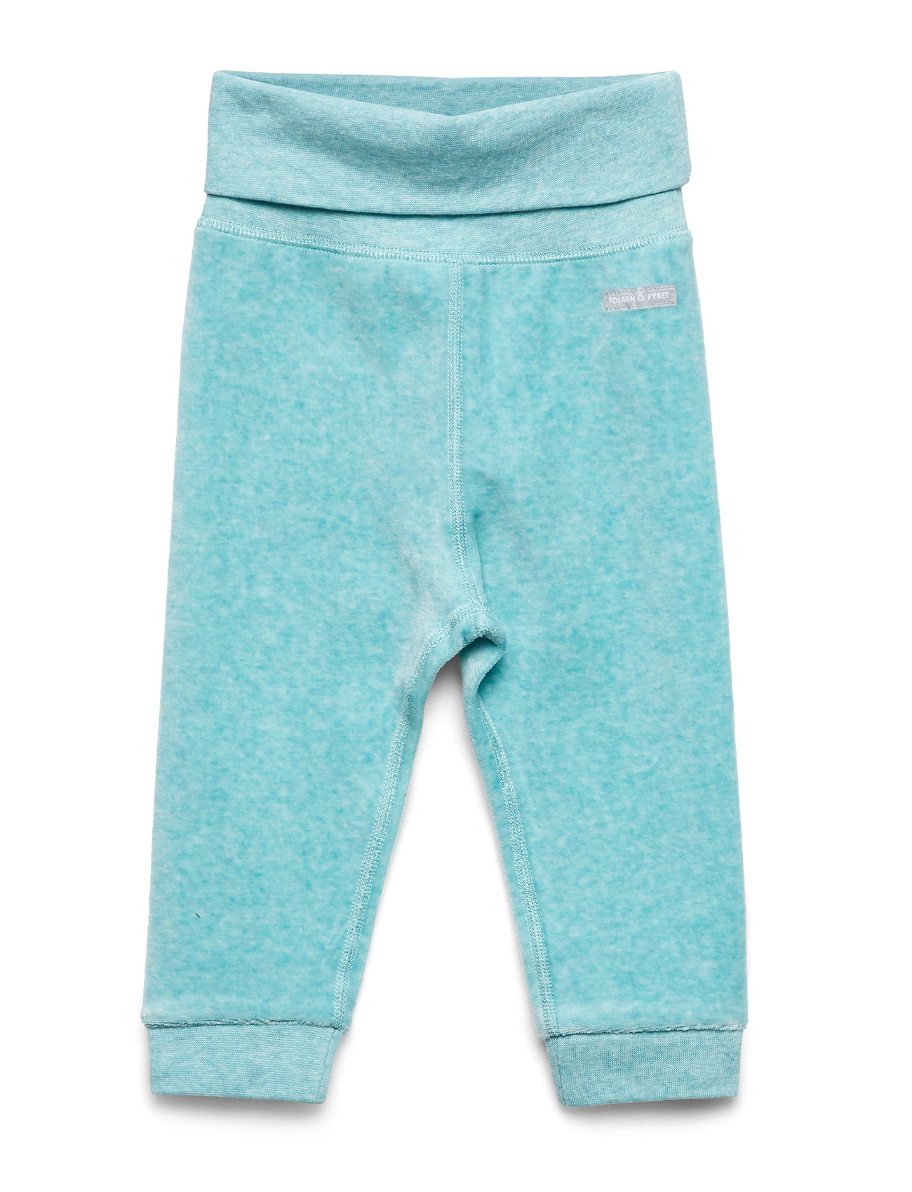 Polarn O. Pyret Trousers Velour Baby - MARINE BLUE