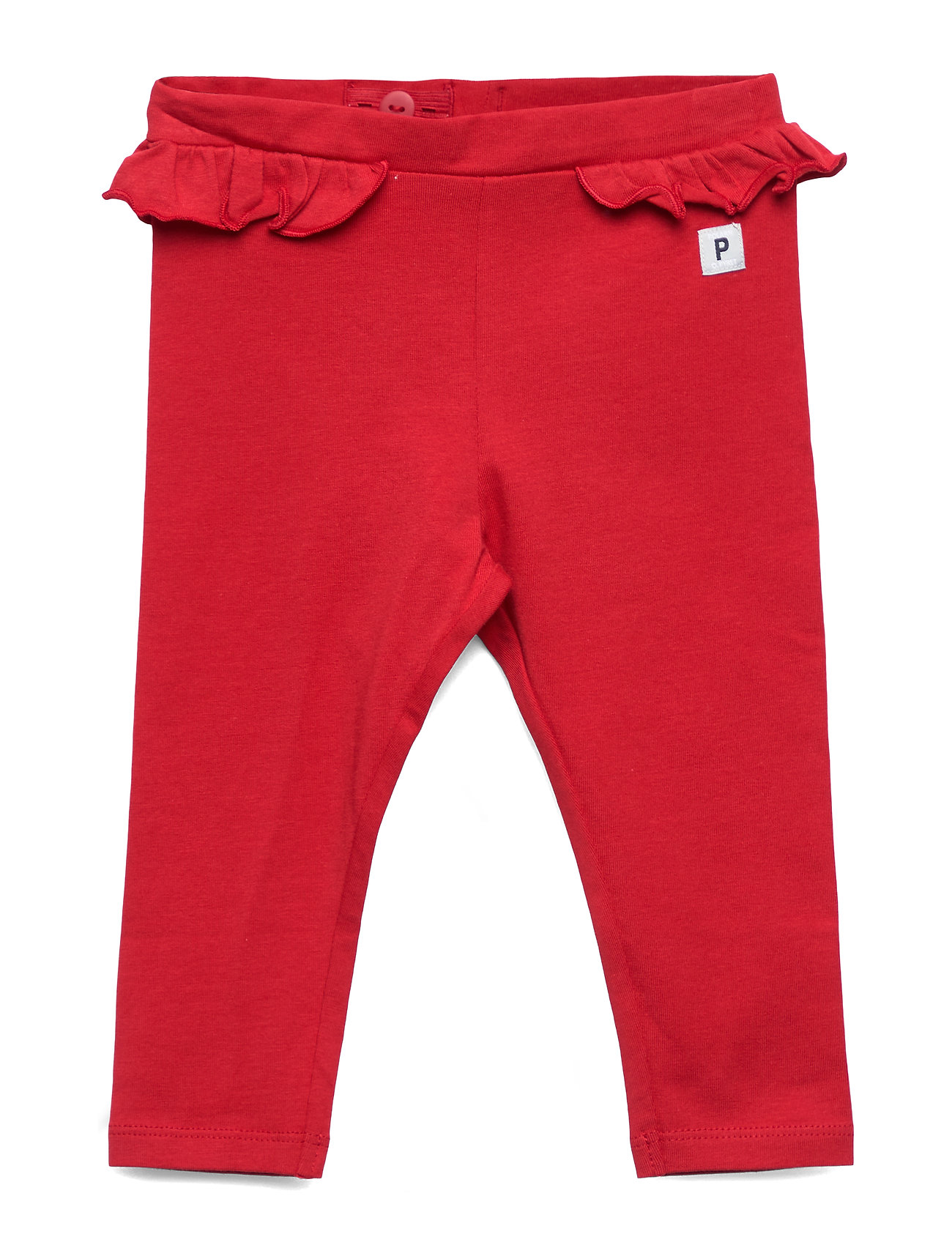 Polarn O. Pyret Leggings solid Baby - CHILI PEPPER