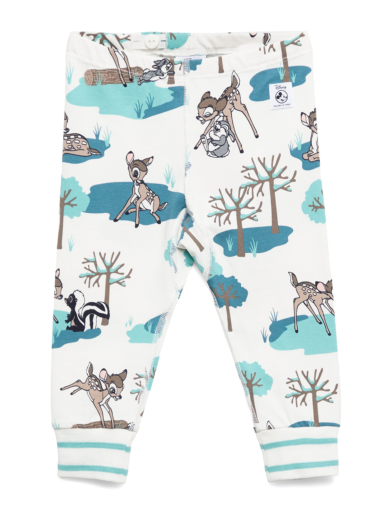Polarn O. Pyret Disney Collection Long Johns AOP Baby - MARINE BLUE