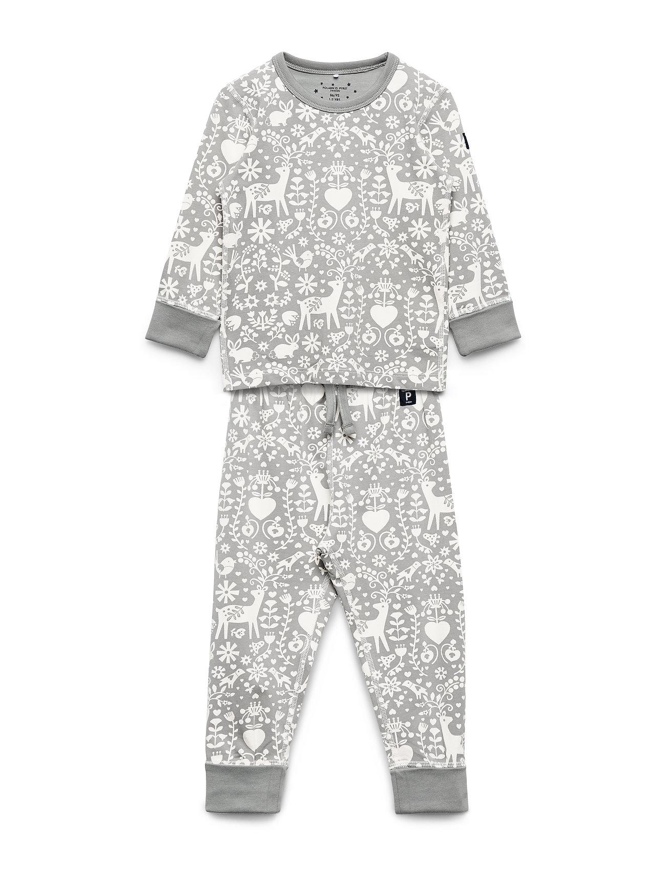 Polarn O. Pyret Pyjamas AOP Preschool - EGRET