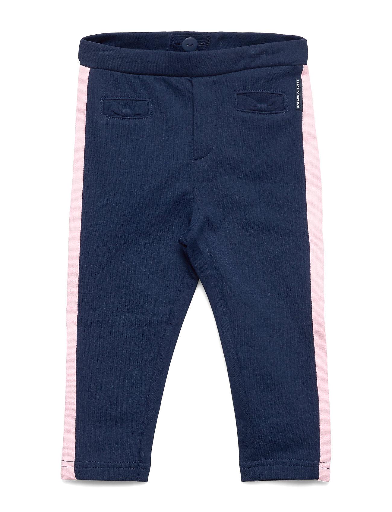Polarn O. Pyret Trousers Jersey Preschool - MEDIEVAL BLUE