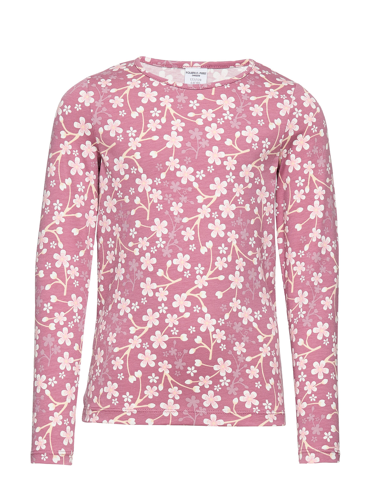 Polarn O. Pyret Top L/S AOP School - HEATHER ROSE