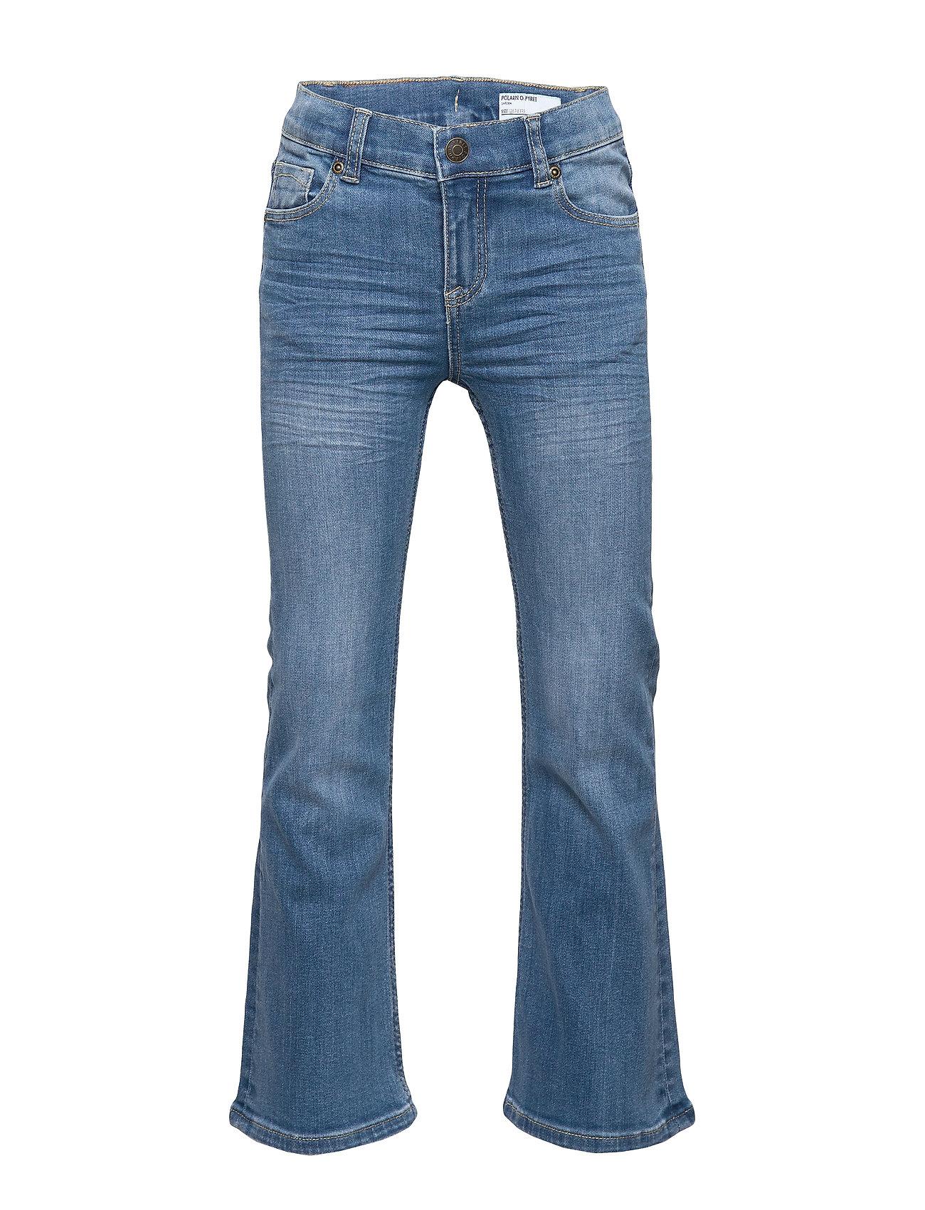 Polarn O. Pyret Jeans Flare School - LIGHT DENIM