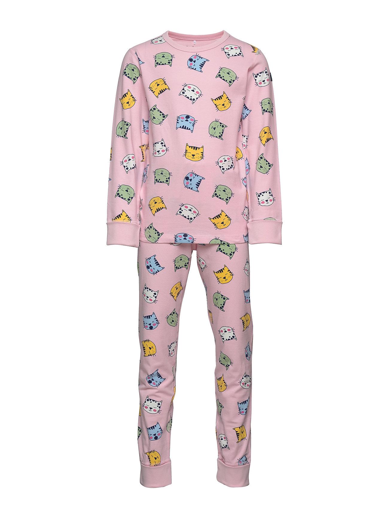 Polarn O. Pyret Pyjamas AOP School - ROSE SHADOW