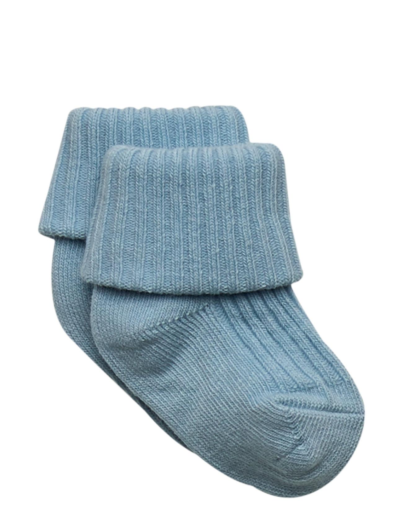 Polarn O. Pyret Sock Solid Baby - DREAM BLUE