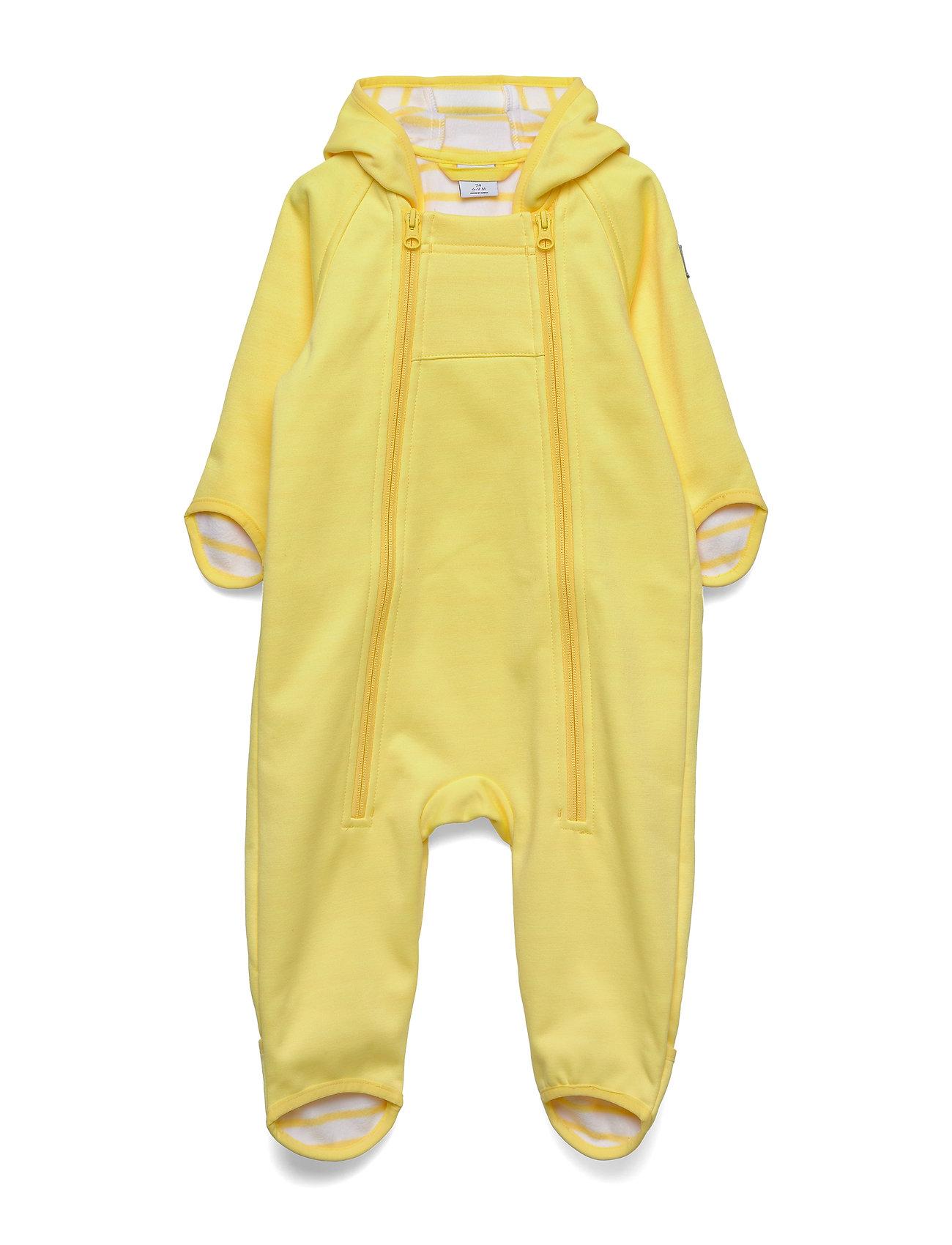 Polarn O. Pyret Overall Baby - LEMON DROP