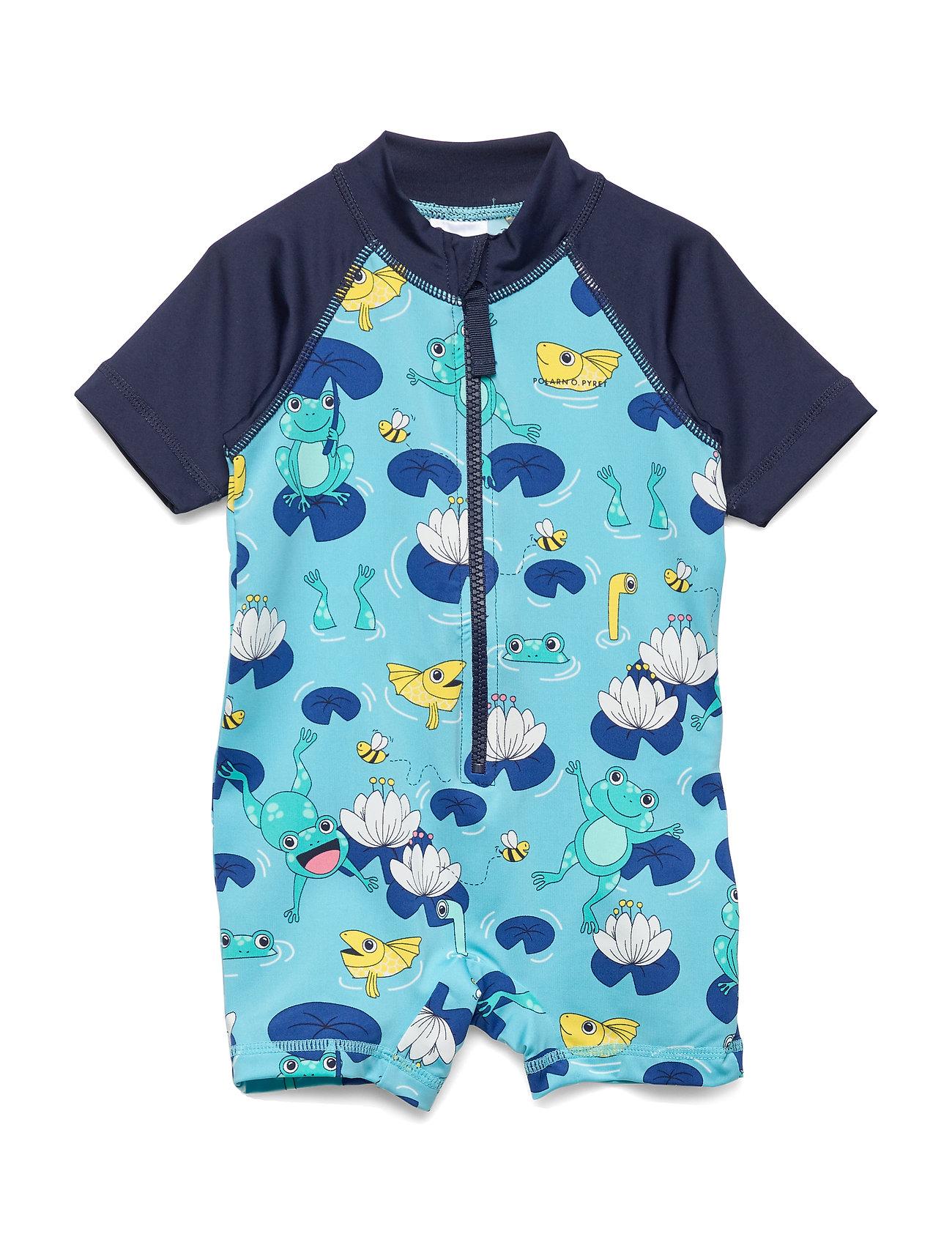 Polarn O. Pyret Swimsuit Short Baby - DARK SAPPHIRE