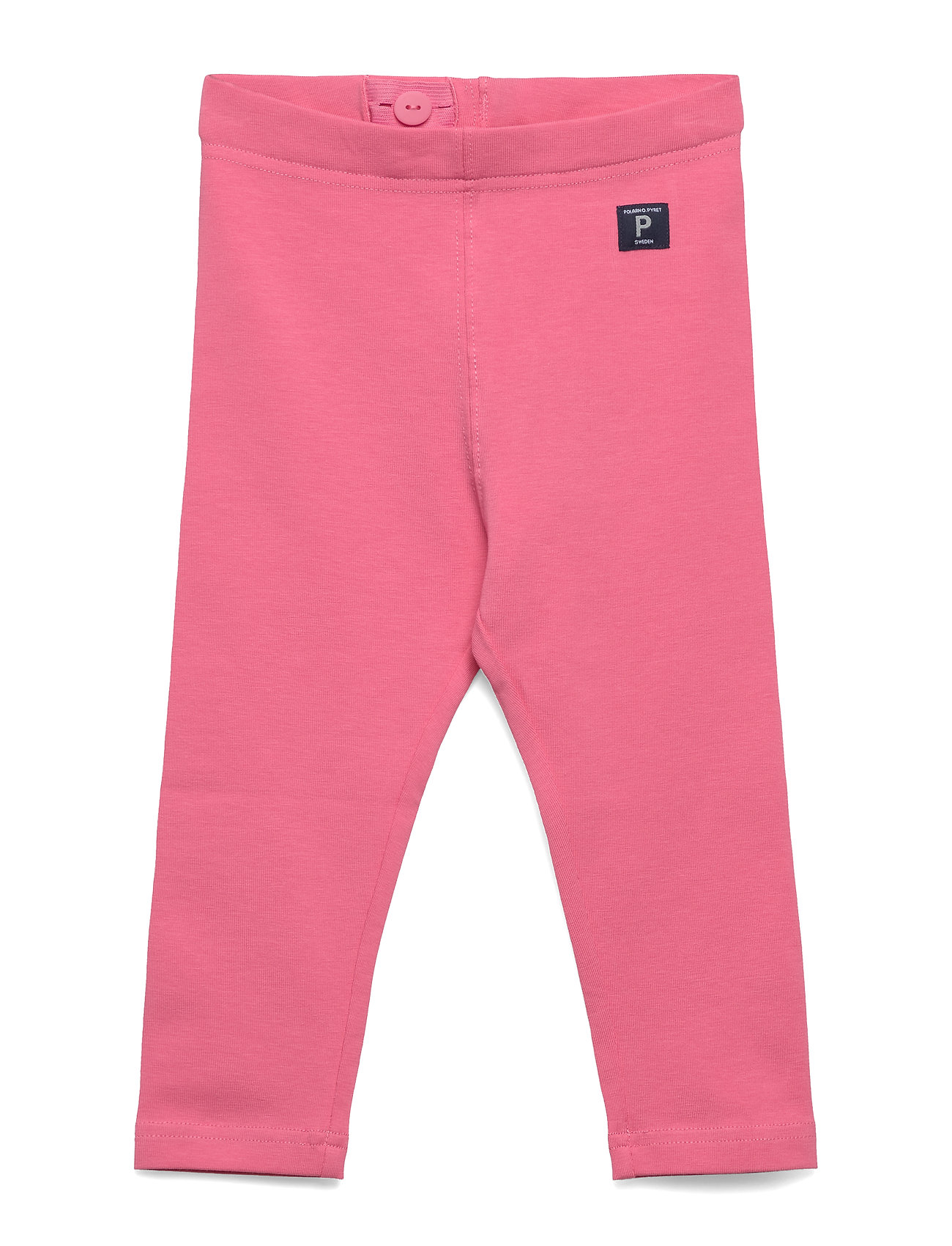 Polarn O. Pyret Leggings Solid Preschool - PINK CARNATION